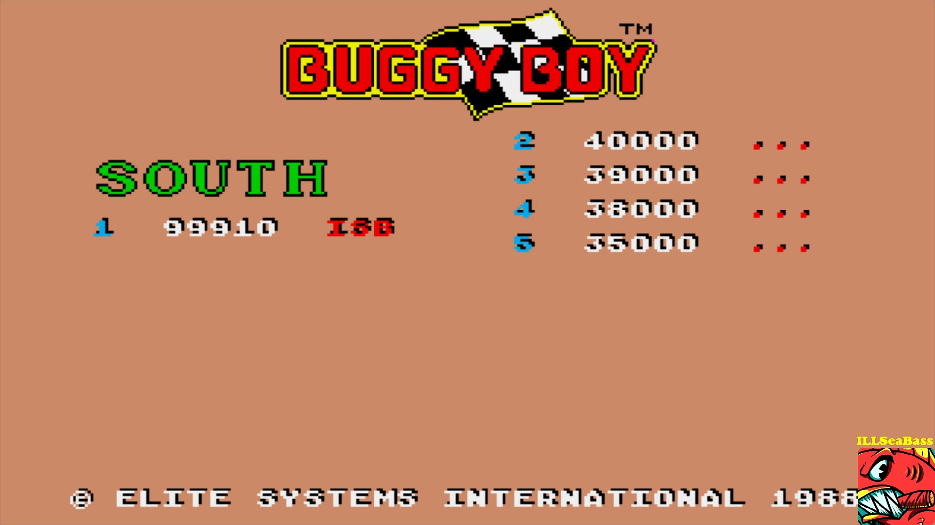 ILLSeaBass: Buggy Boy [South] (Amiga Emulated) 99,910 points on 2017-10-23 18:20:27