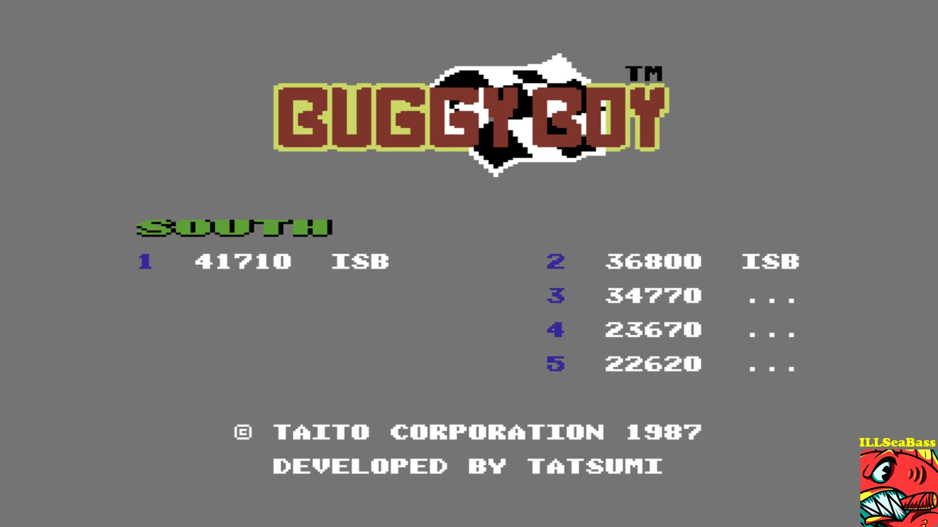 ILLSeaBass: Buggy Boy: South (Commodore 64 Emulated) 41,710 points on 2017-10-19 21:49:37