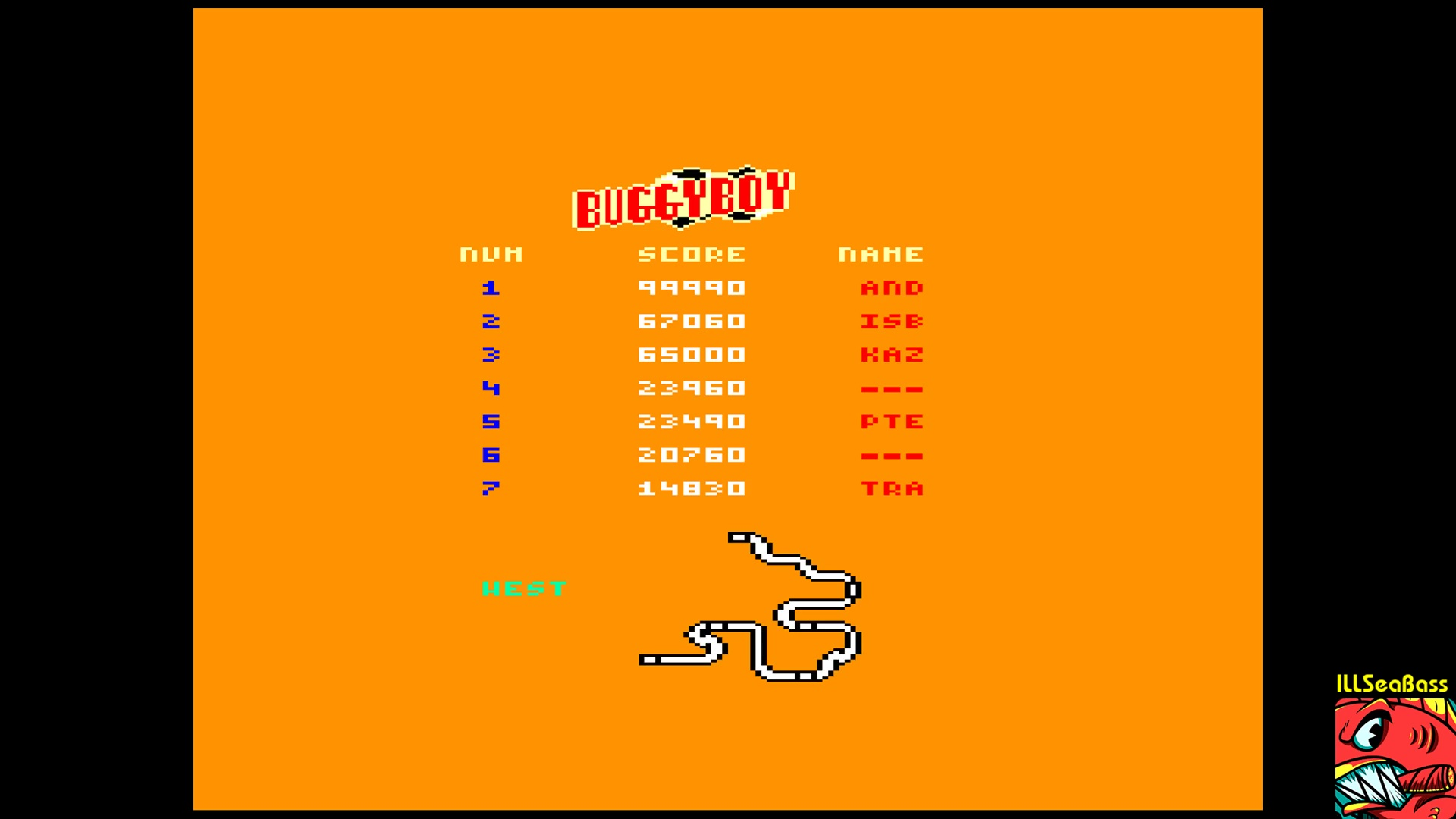 ILLSeaBass: Buggy Boy [West] (Amstrad CPC Emulated) 67,060 points on 2017-11-07 00:22:40