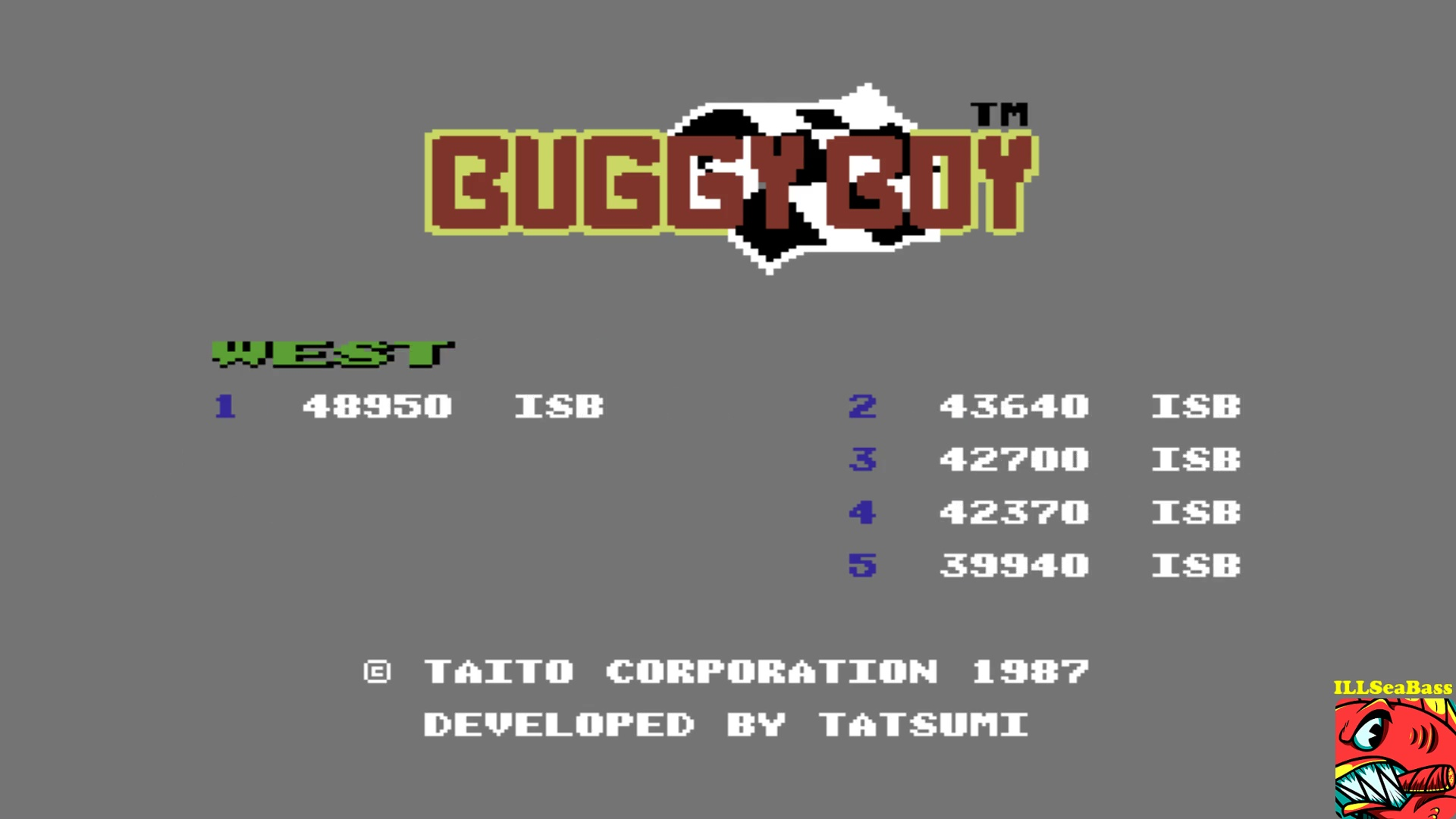 ILLSeaBass: Buggy Boy: West (Commodore 64 Emulated) 48,950 points on 2017-10-21 14:47:28