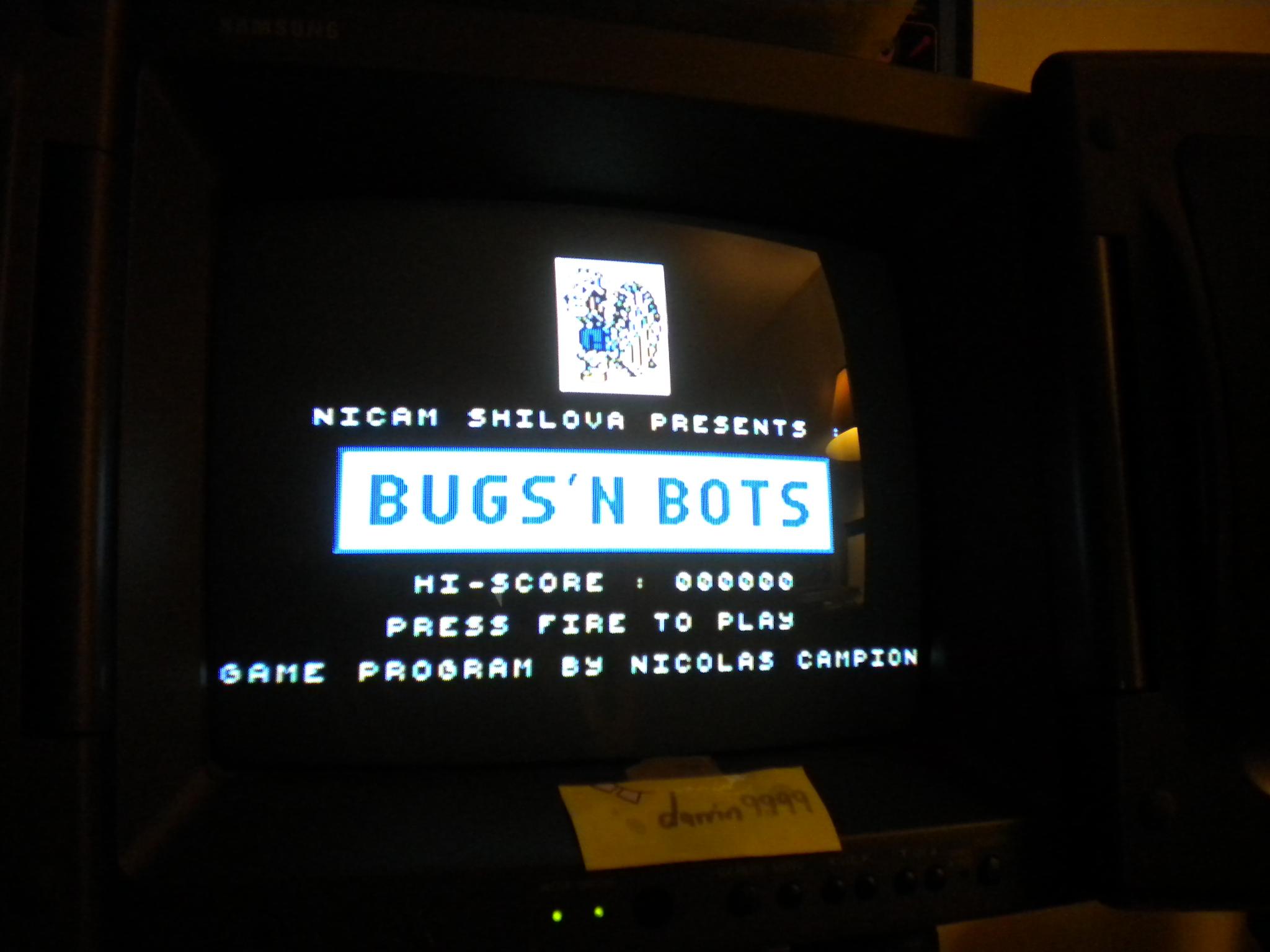 darrin9999: Bugs