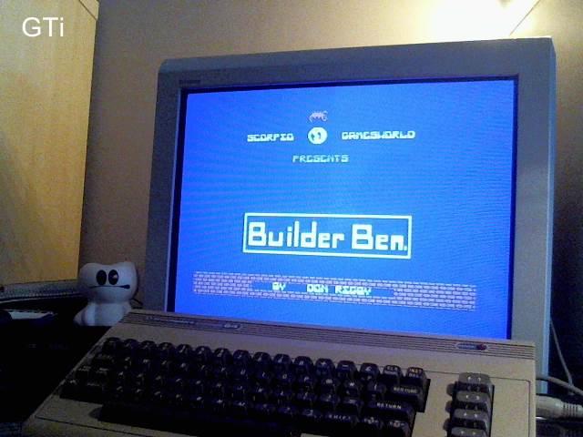 GTibel: Builder Ben (Commodore 64) 51,500 points on 2016-12-29 08:30:55