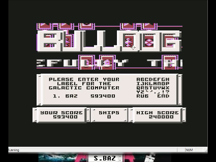 S.BAZ: Bulldog (Commodore 64 Emulated) 593,400 points on 2016-05-28 16:02:51