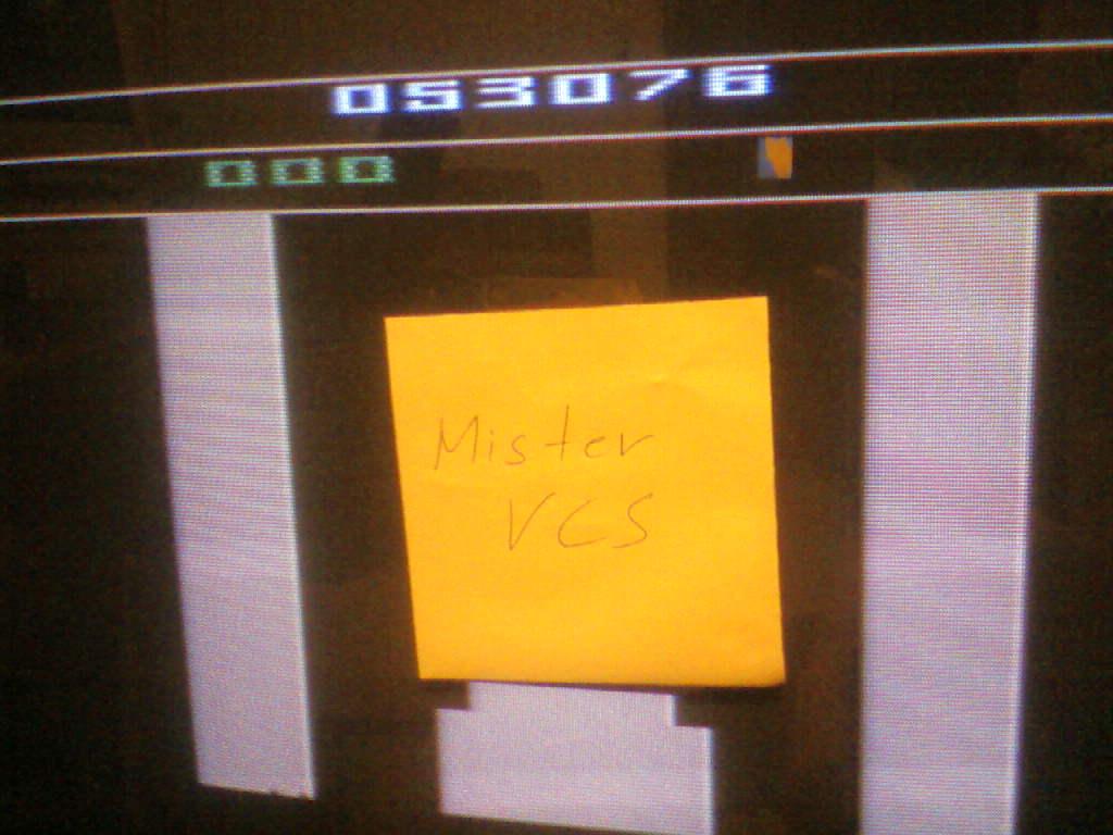 MisterVCS: Bump N Jump (Atari 2600) 53,076 points on 2015-12-13 13:08:16