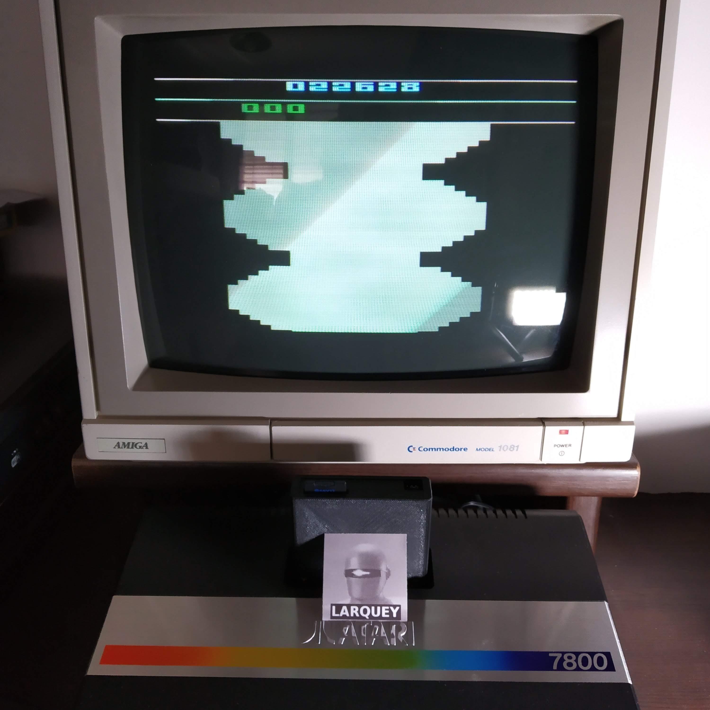 Larquey: Bump N Jump (Atari 2600) 22,628 points on 2020-07-27 04:04:26