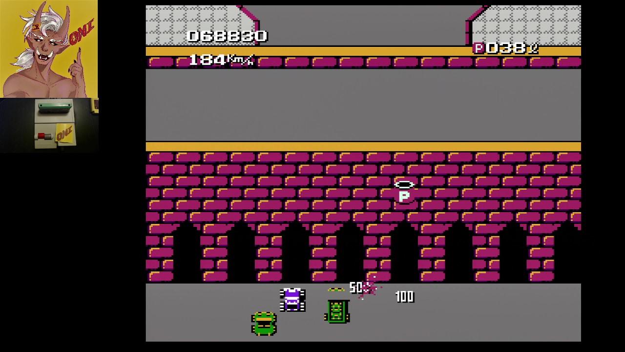 OniDensetsu: Bump N Jump (NES/Famicom) 68,830 points on 2021-02-27 04:52:07