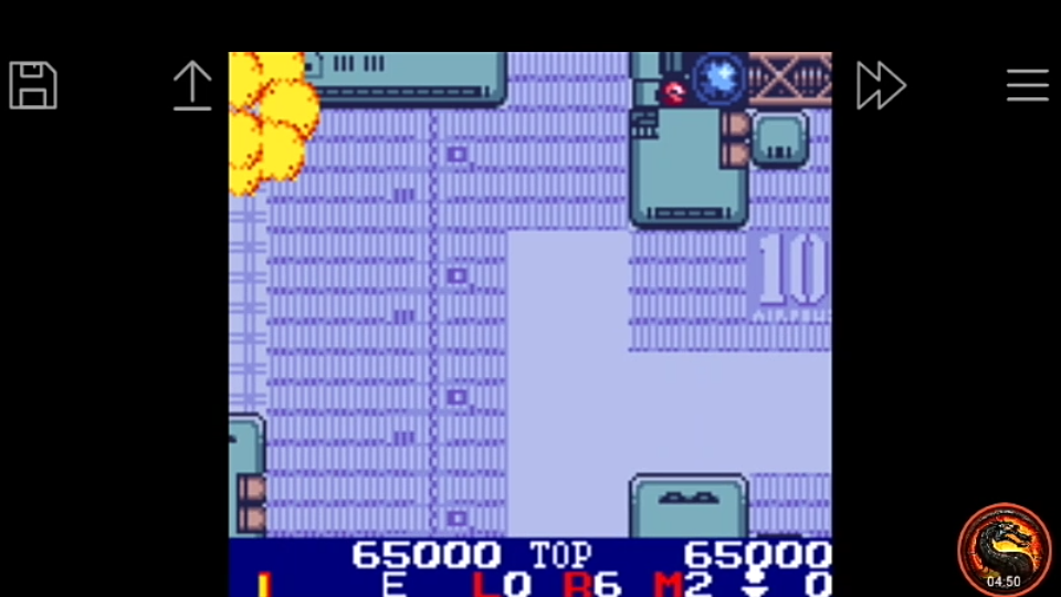 omargeddon: Burai Fighter Color [Ace] (Game Boy Color Emulated) 65,000 points on 2020-08-22 00:49:27