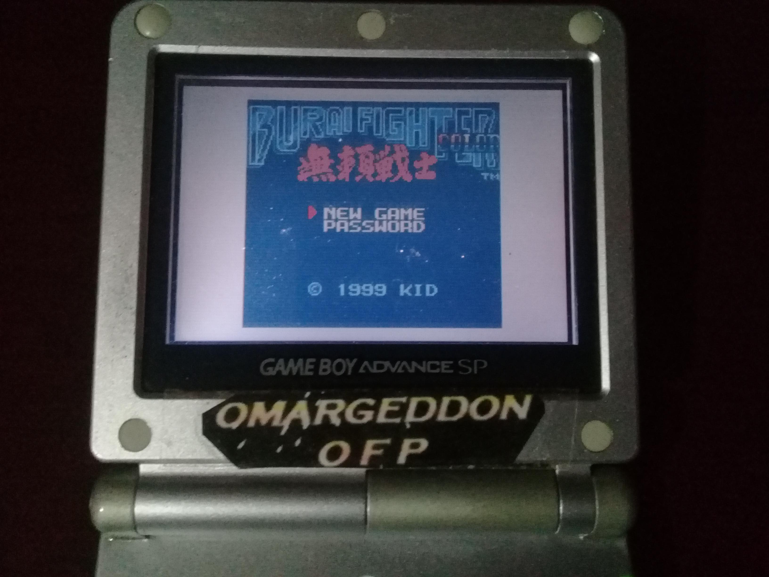omargeddon: Burai Fighter Color [Albatross] (Game Boy Color) 102,570 points on 2019-05-24 10:55:37