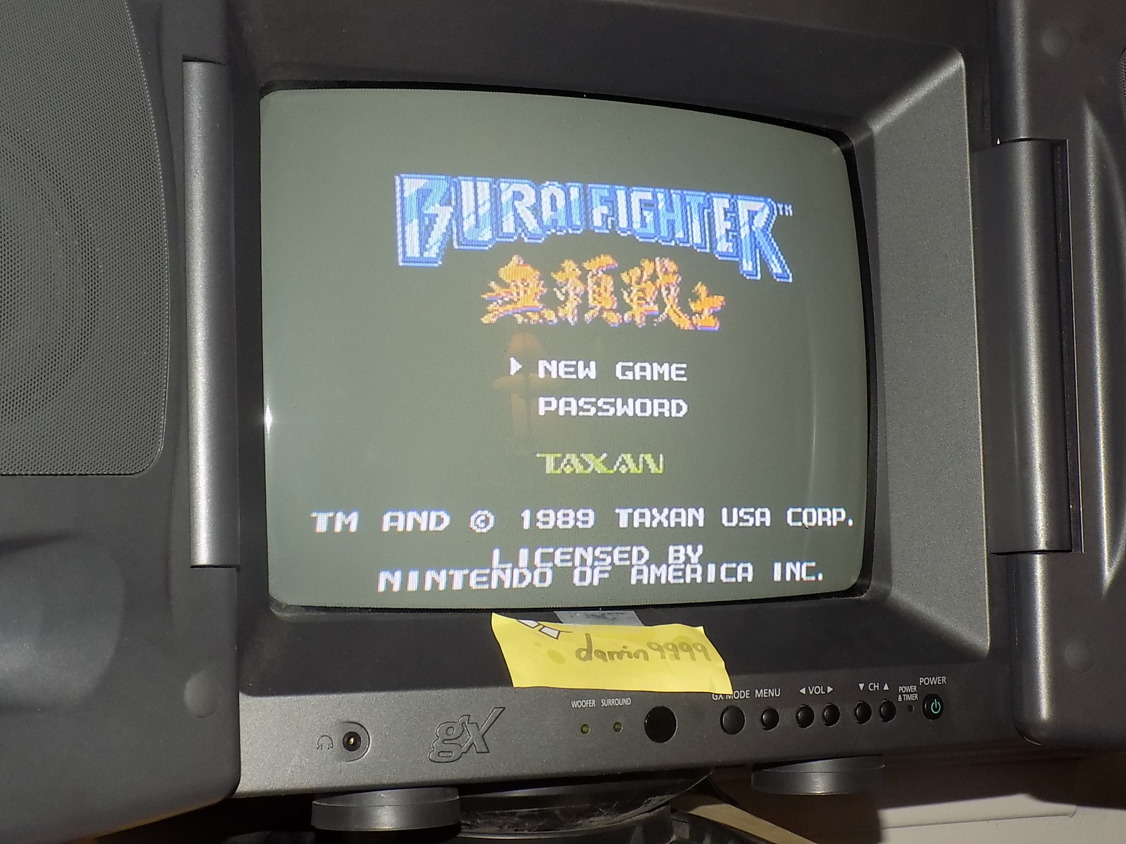 darrin9999: Burai Fighter: Eagle (NES/Famicom) 15,310 points on 2018-02-05 18:34:13