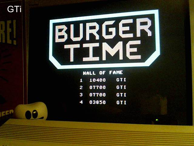GTibel: Burger Time (Commodore 64) 10,400 points on 2016-12-10 09:47:12