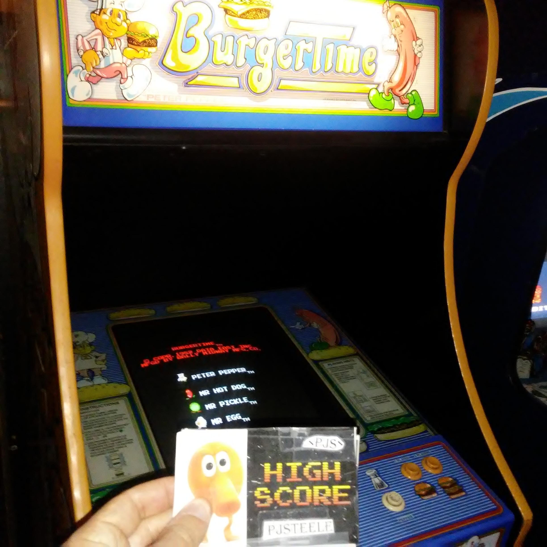 Pjsteele: BurgerTime (Arcade) 12,400 points on 2017-12-23 18:53:49
