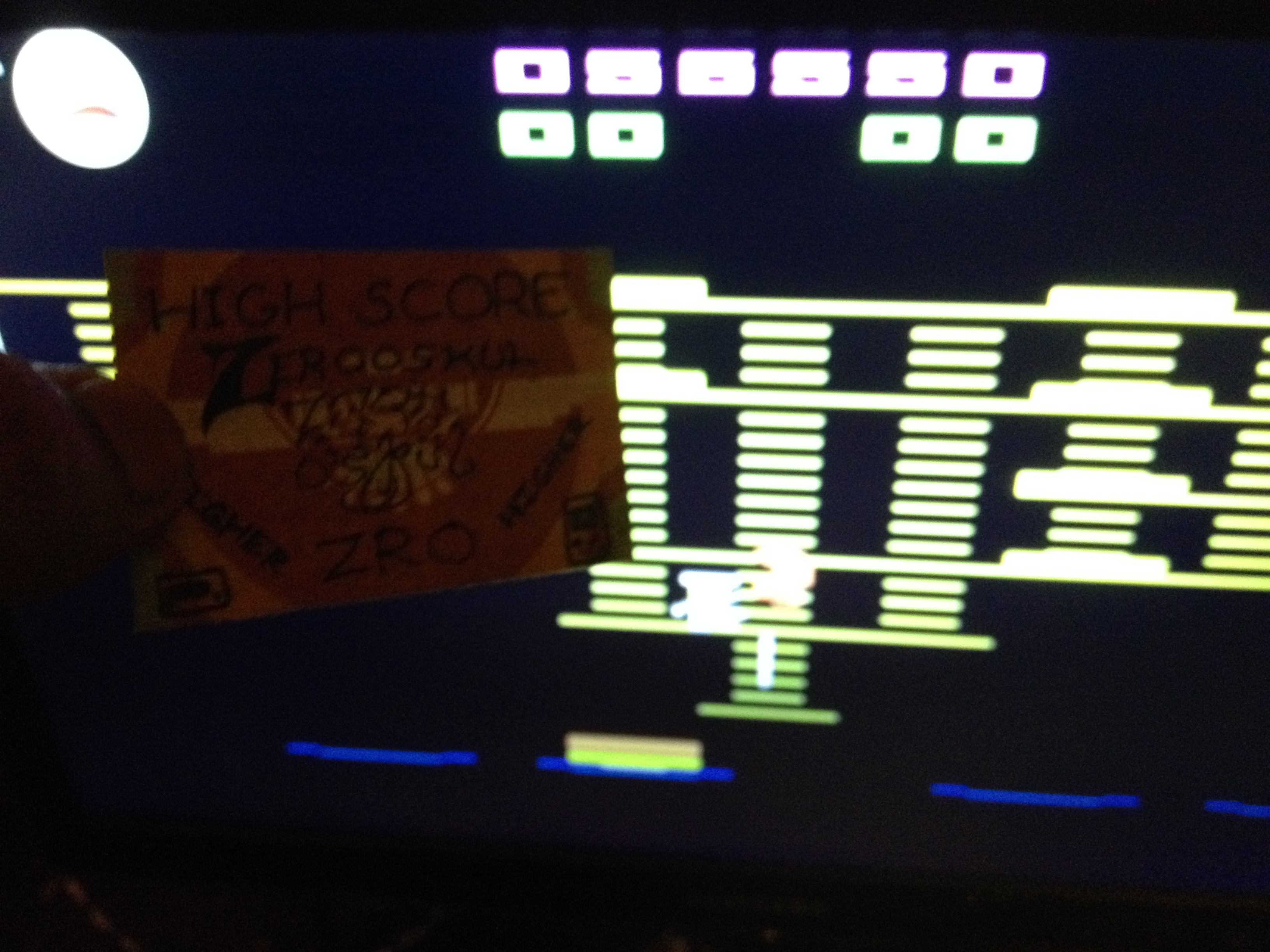 zerooskul: BurgerTime (Atari 2600 Emulated) 56,550 points on 2020-07-07 07:17:39