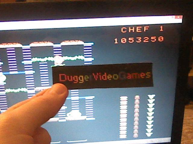 DuggerVideoGames: BurgerTime (Colecovision Emulated) 1,053,250 points on 2018-02-20 07:59:14