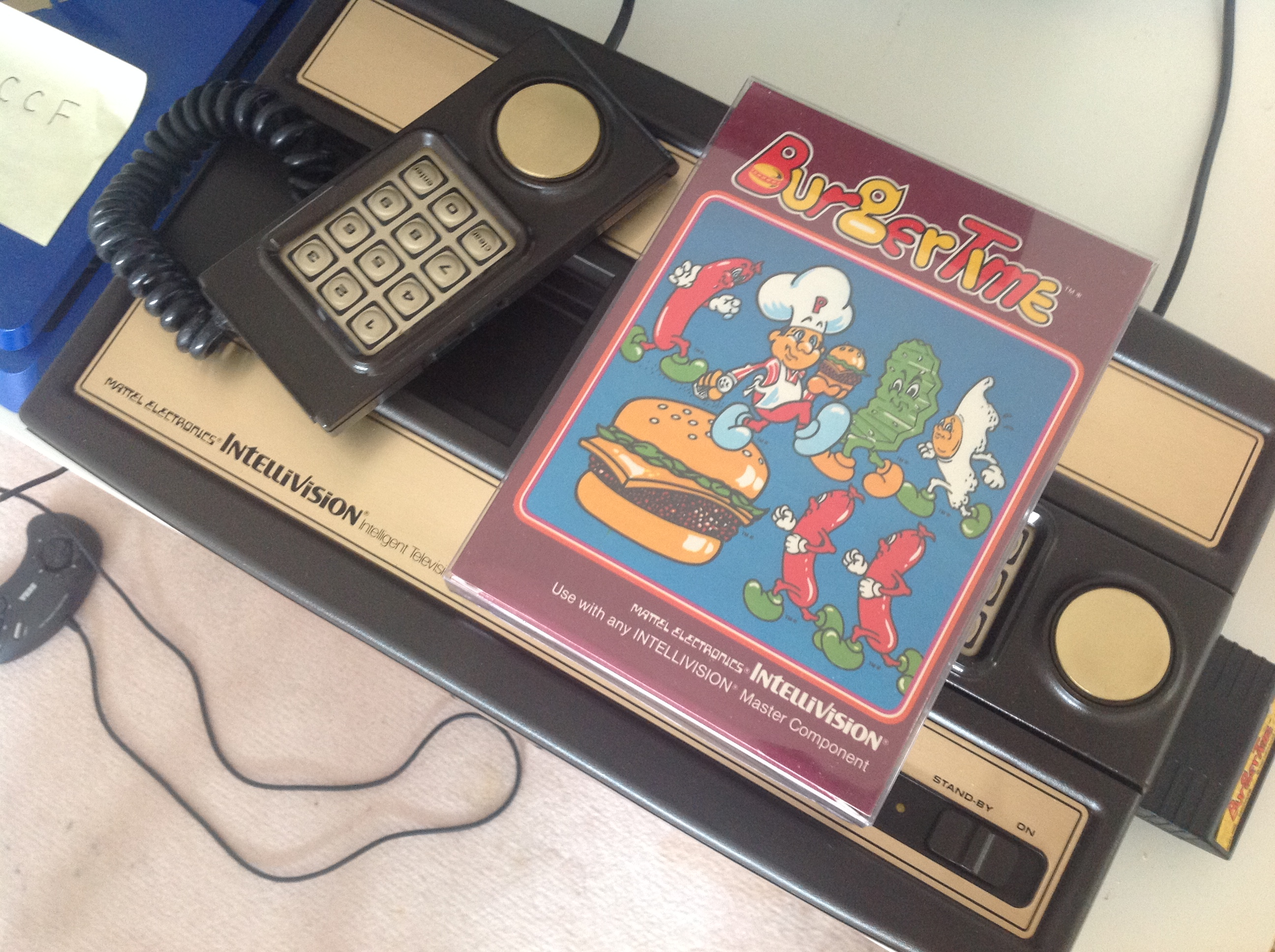 CoCoForest: BurgerTime (Intellivision) 18,200 points on 2018-07-26 05:46:57