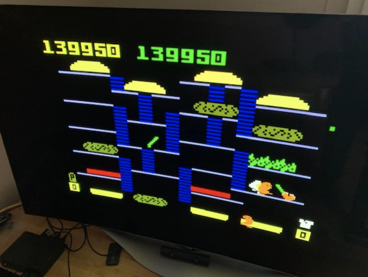 BurgerTime 139,950 points