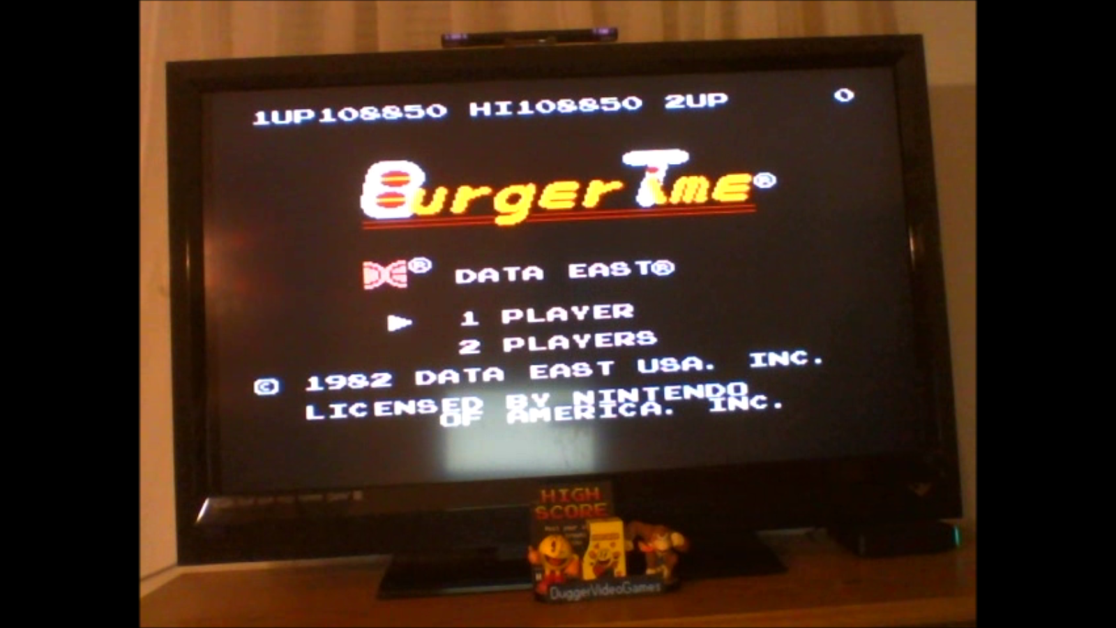DuggerVideoGames: BurgerTime (NES/Famicom Emulated) 108,850 points on 2017-02-01 19:03:28