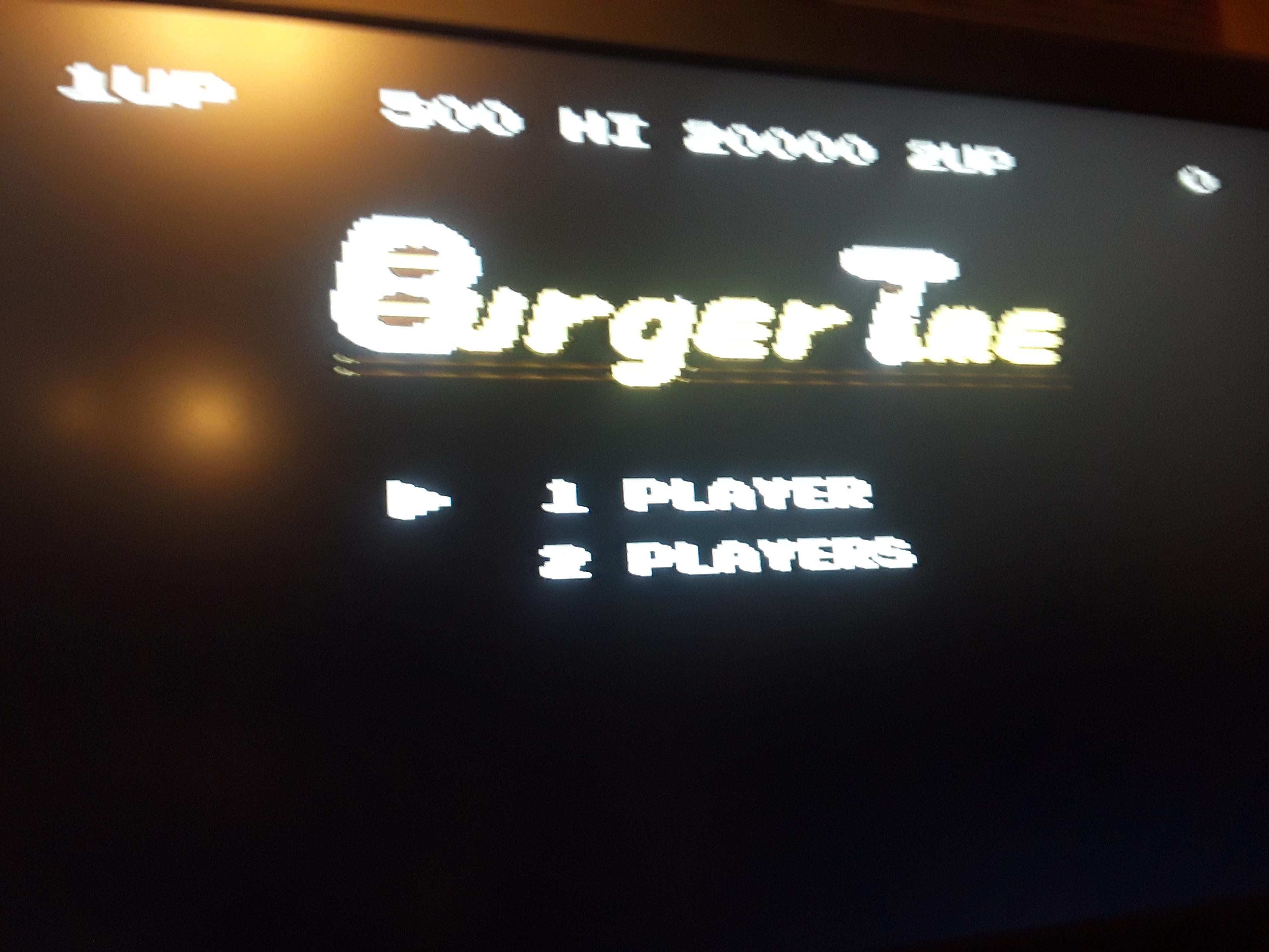 BurgerTime 500 points