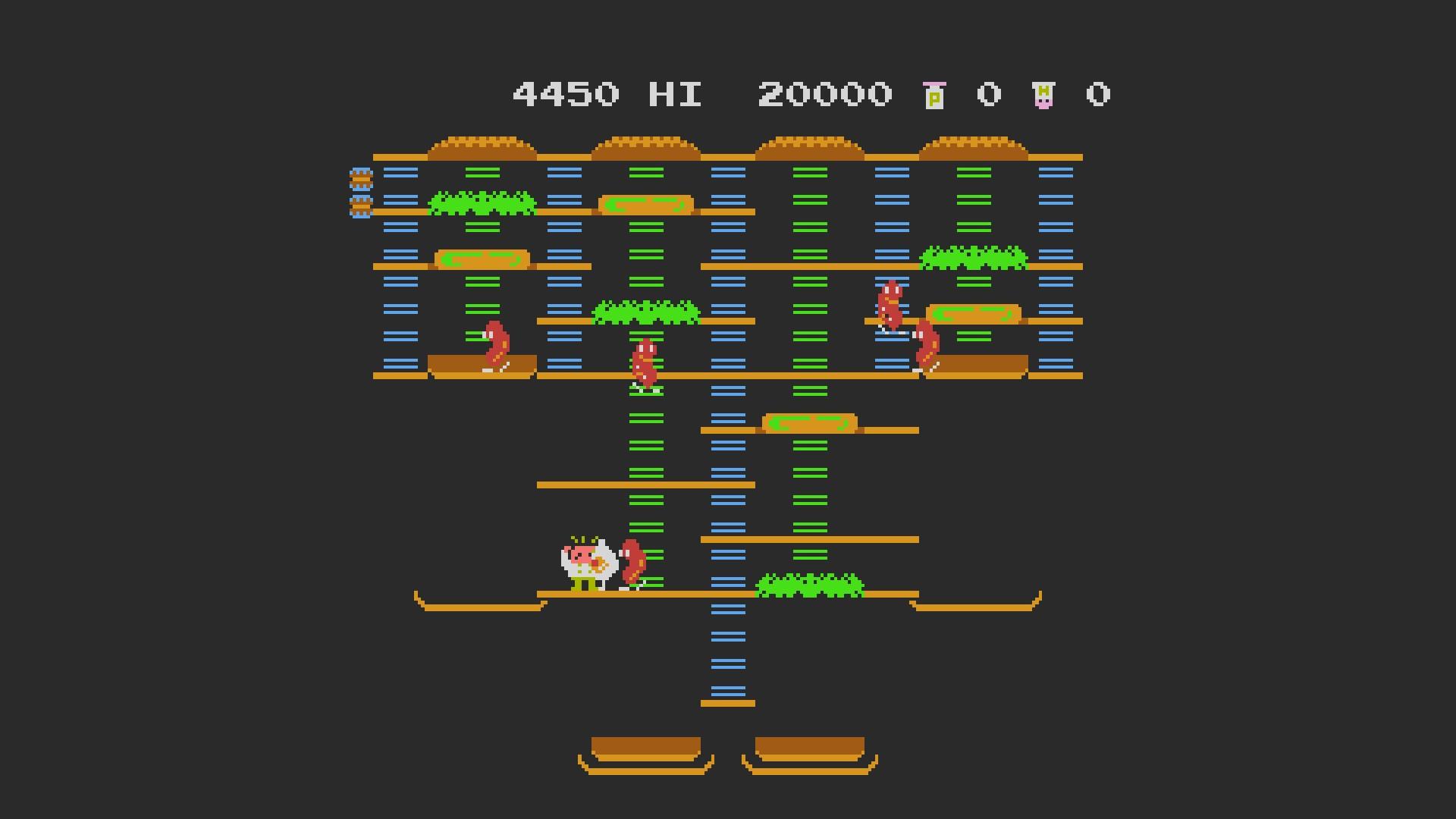 AkinNahtanoj: BurgerTime (NES/Famicom Emulated) 4,450 points on 2020-08-21 13:56:25