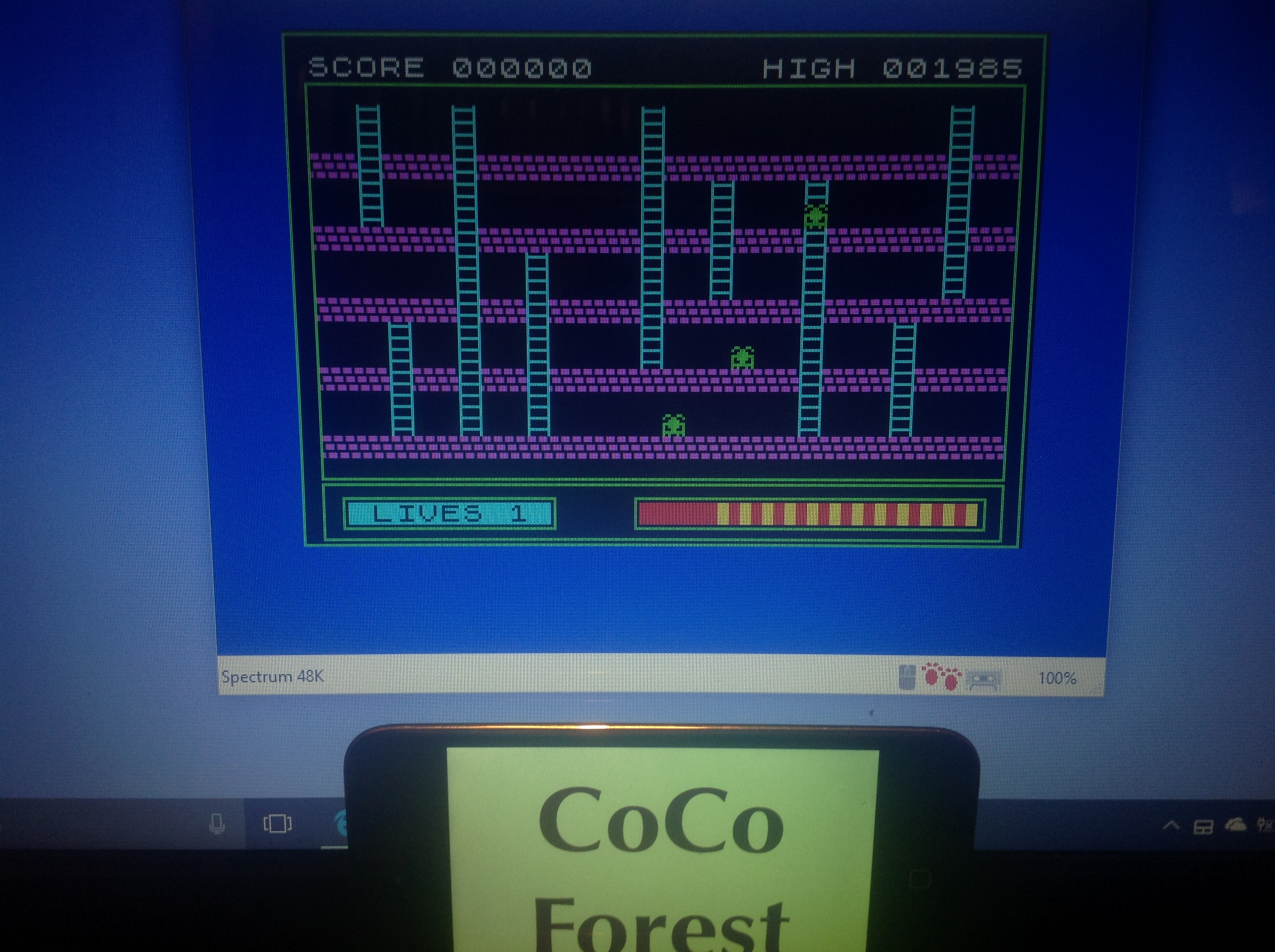 CoCoForest: Buriabeast [Speed: 1] (ZX Spectrum Emulated) 1,985 points on 2018-01-18 13:35:23