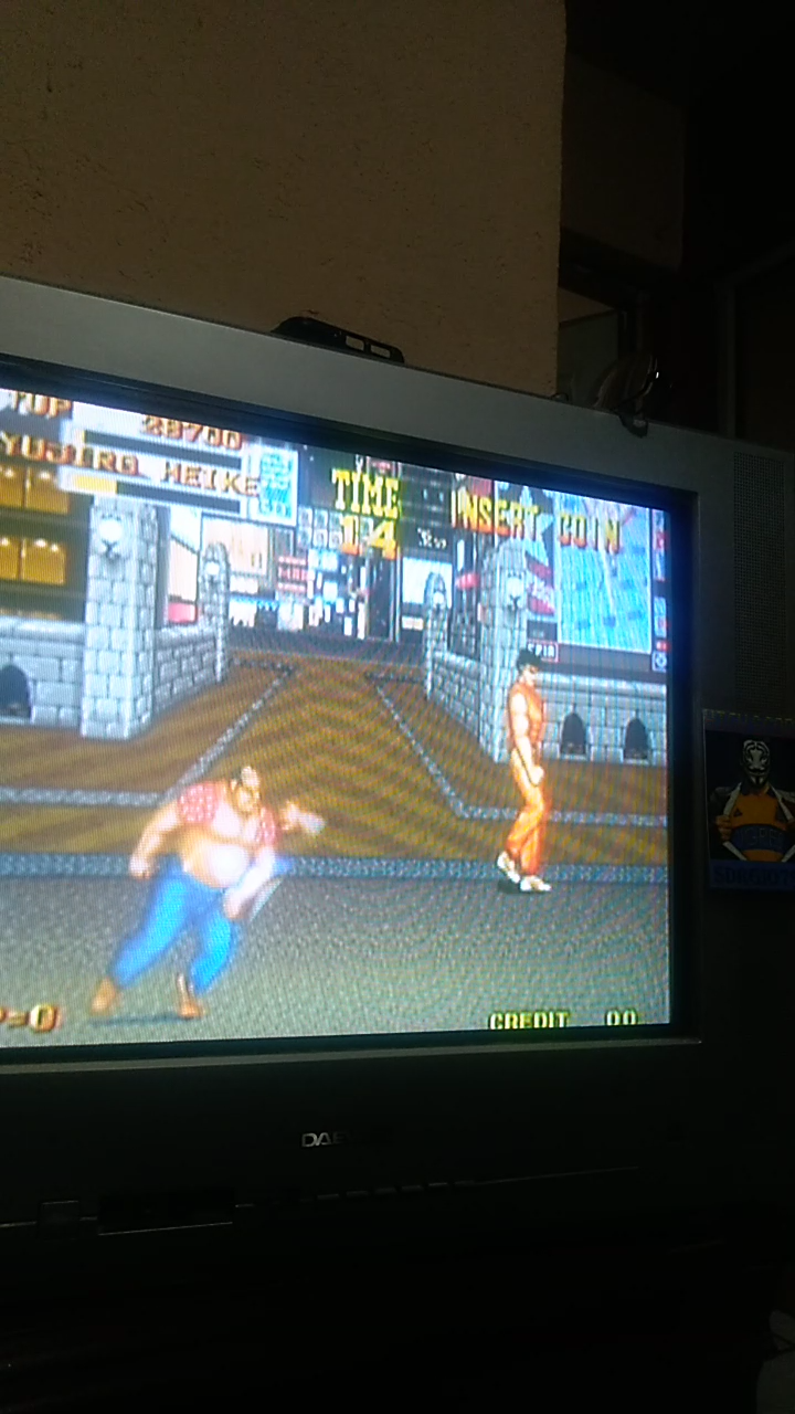 Sdrgio797: Burning Fight (Arcade Emulated / M.A.M.E.) 28,700 points on 2020-08-05 20:12:19