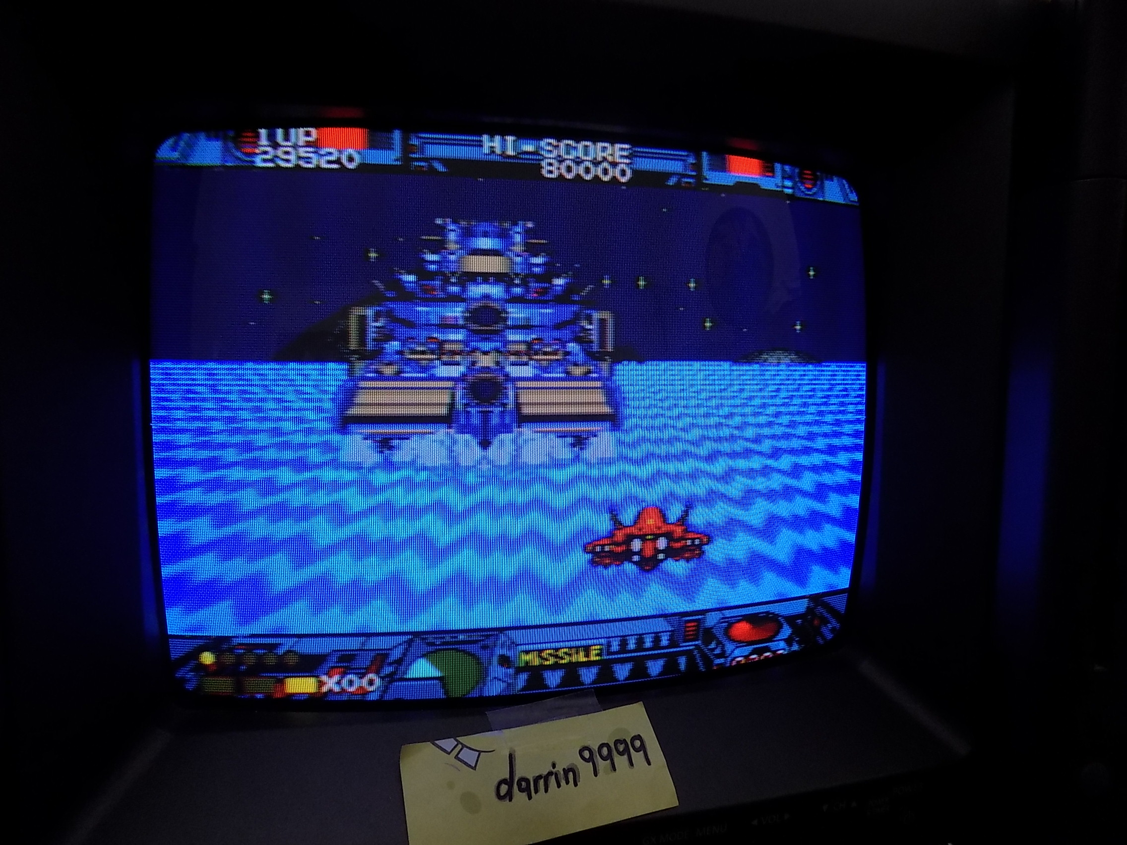 darrin9999: Burning Force (Sega Genesis / MegaDrive) 29,520 points on 2019-03-31 11:34:56