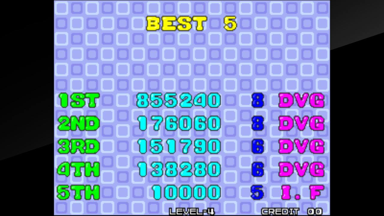 DuggerVideoGames: Bust A Move / Puzzle Bobble (Neo Geo Emulated) 855,240 points on 2019-02-02 13:14:23
