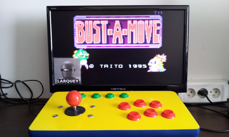 Larquey: Bust-A-Move [Puzzle] (Sega Game Gear Emulated) 1,208,180 points on 2017-05-21 11:11:16