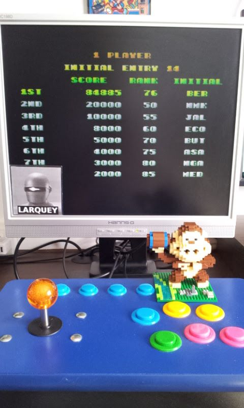 Larquey: Butasan [butasan] (Arcade Emulated / M.A.M.E.) 84,885 points on 2017-07-03 10:07:29
