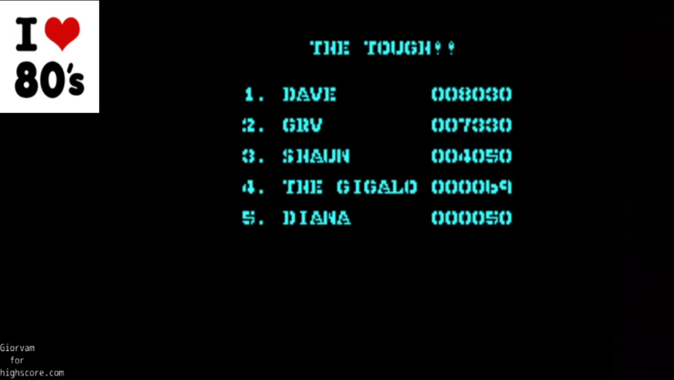 Giorvam: Butch - Hard Guy (ZX Spectrum Emulated) 7,330 points on 2020-03-04 04:43:47