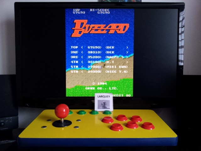 Buzzard 67,690 points