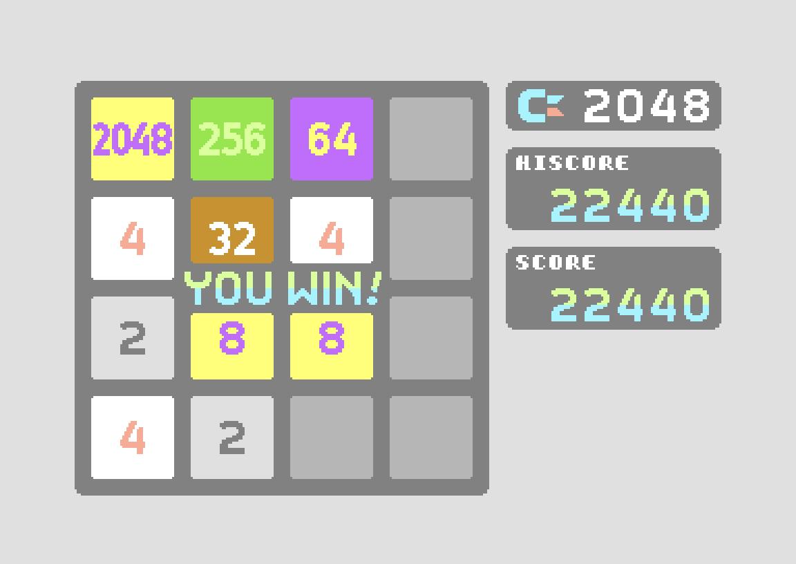 C-2048 22,440 points