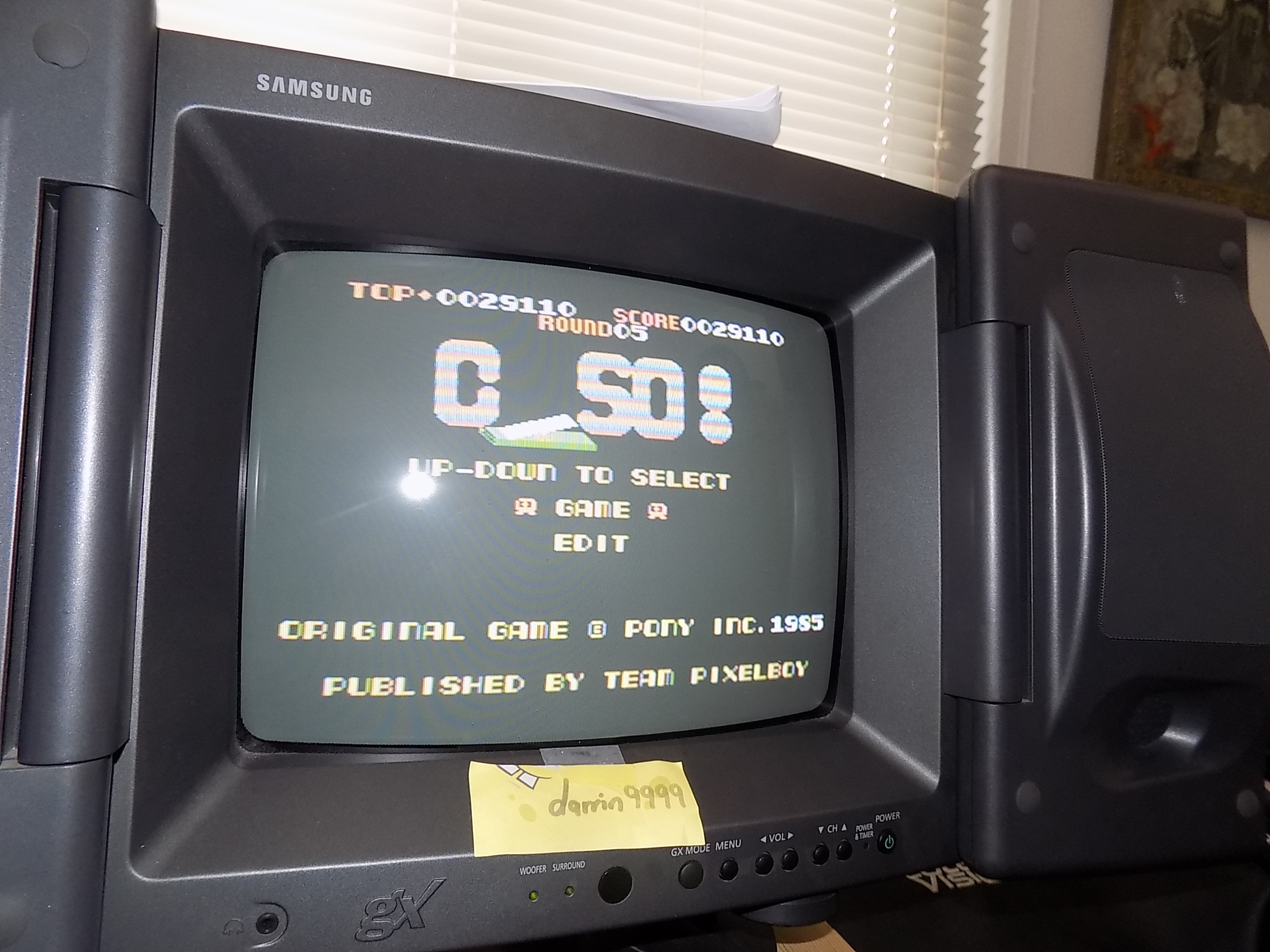 darrin9999: C-So! (Colecovision) 29,110 points on 2018-03-14 13:23:37