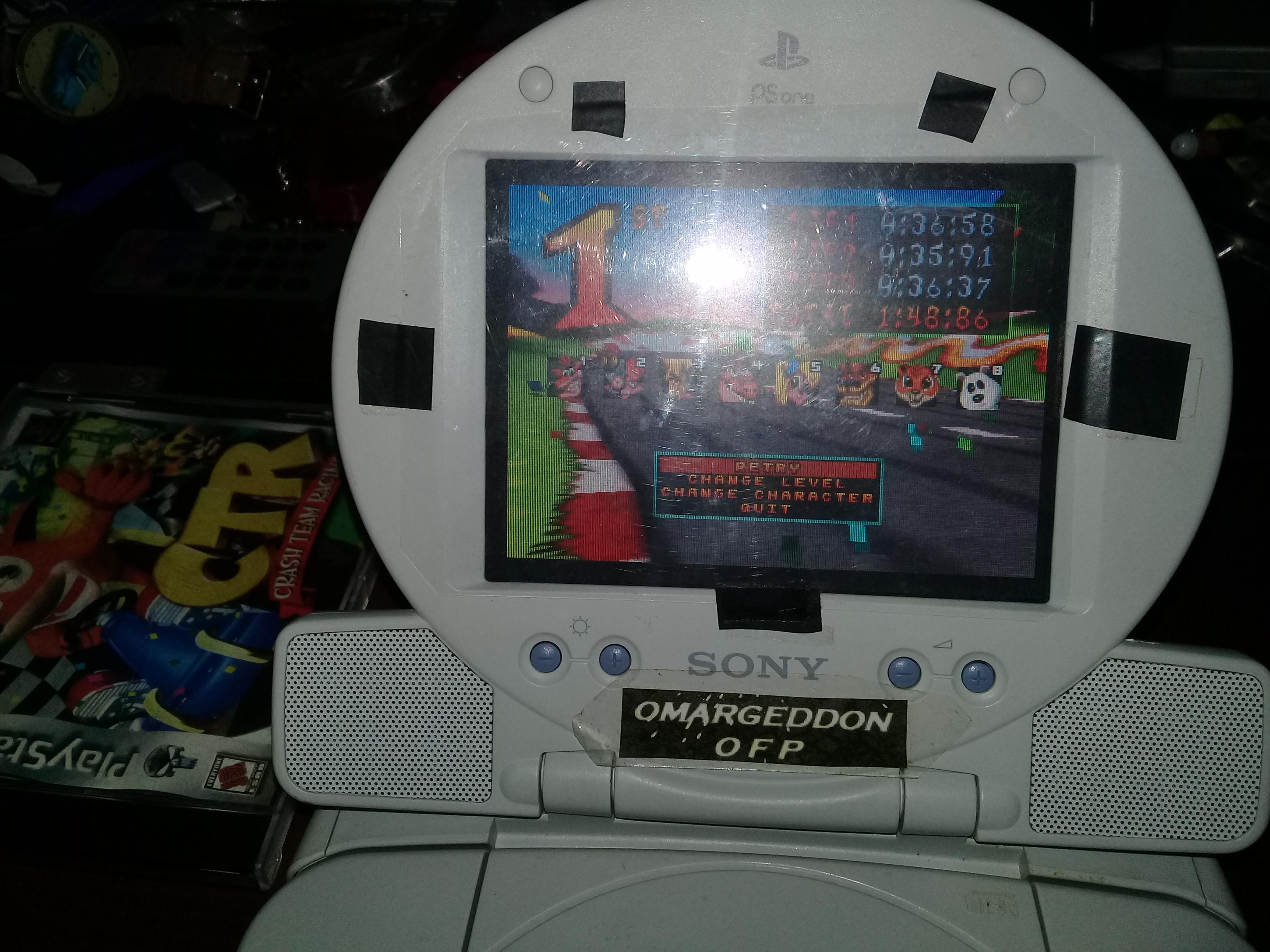 omargeddon: CTR Crash Team Racing: Arcade: Coco Park: Single: Easy [Best Lap] (Playstation 1) 0:00:35.91 points on 2019-07-01 12:44:35