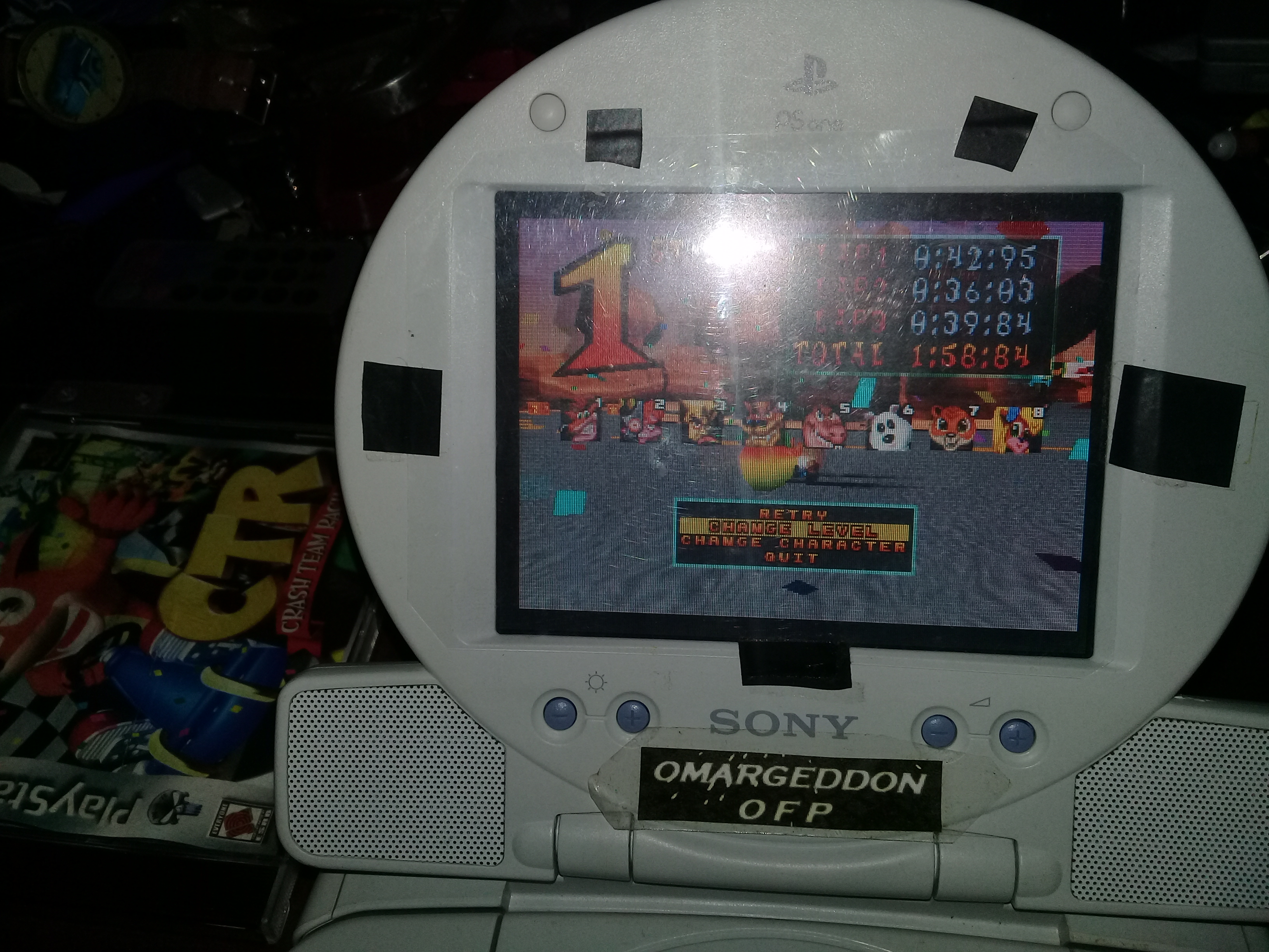 omargeddon: CTR Crash Team Racing: Arcade: Dingo Canyon: Single: Easy: 3 Laps [Race Time] (Playstation 1) 0:01:58.84 points on 2019-07-01 13:19:05