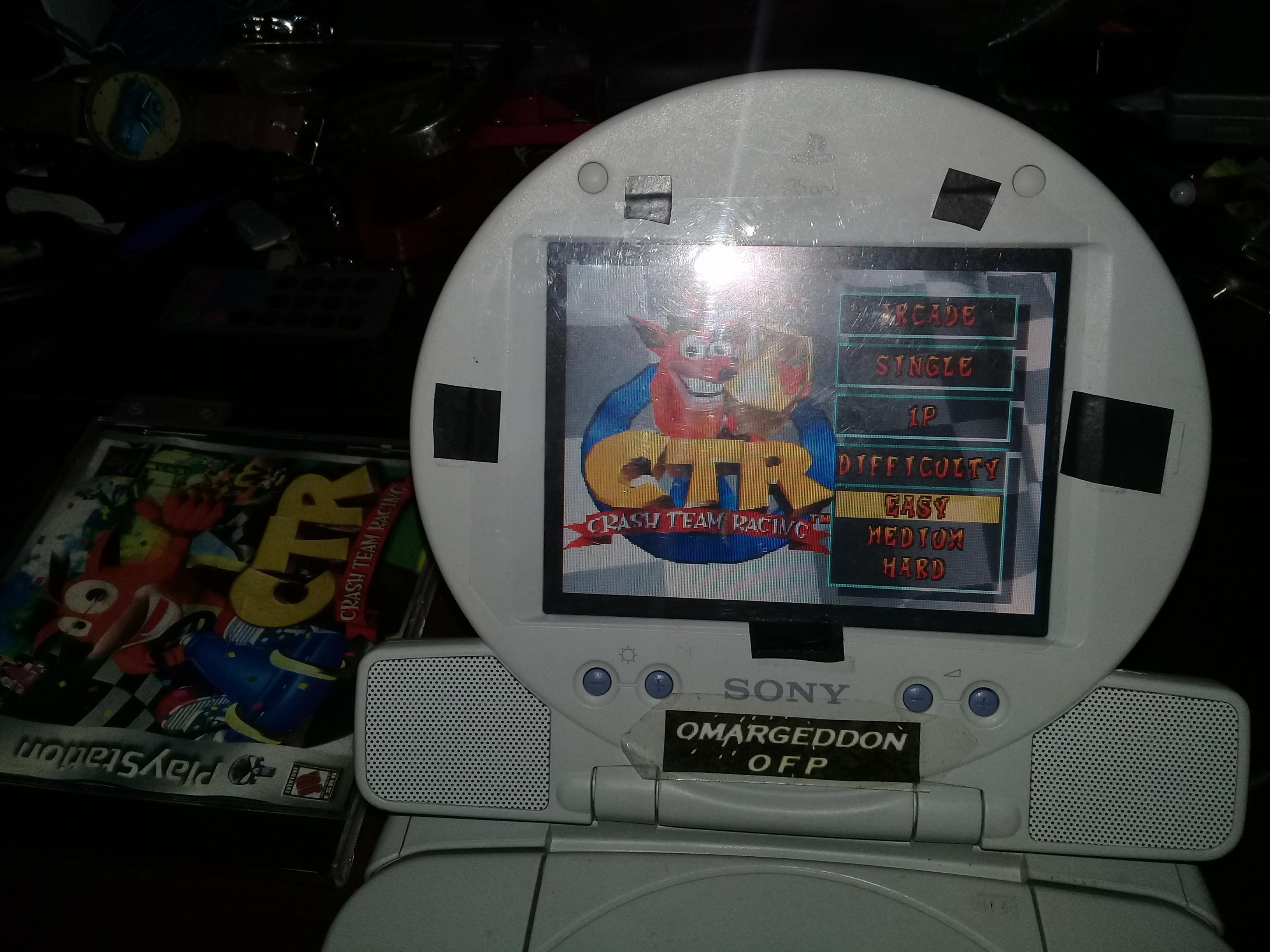 omargeddon: CTR Crash Team Racing: Arcade: Dingo Canyon: Single: Easy [Best Lap] (Playstation 1) 0:00:36.03 points on 2019-07-01 13:23:23