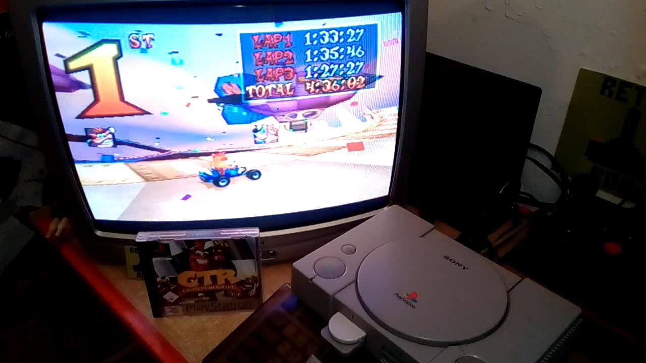 RetroRob: CTR Crash Team Racing: Arcade: Hot Air Skyway: Single: Easy: 3 Laps [Race Time] (Playstation 1) 0:04:36.02 points on 2020-12-31 04:56:55