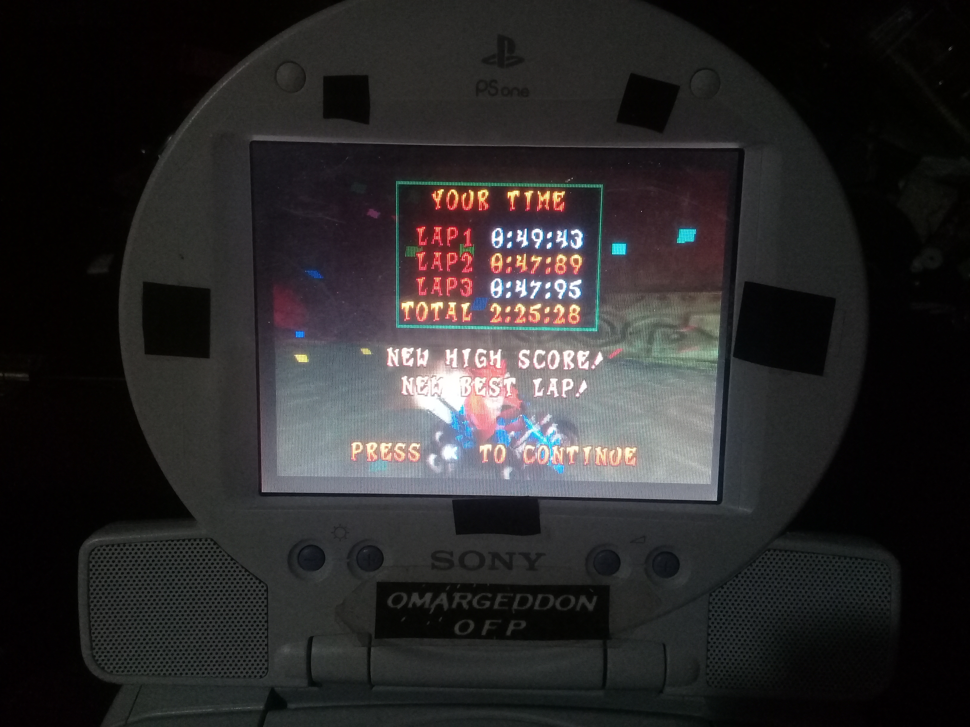 omargeddon: CTR Crash Team Racing: Time Trial: Sewer Speedway [Race Time] (Playstation 1) 0:02:25.28 points on 2019-05-13 17:13:46