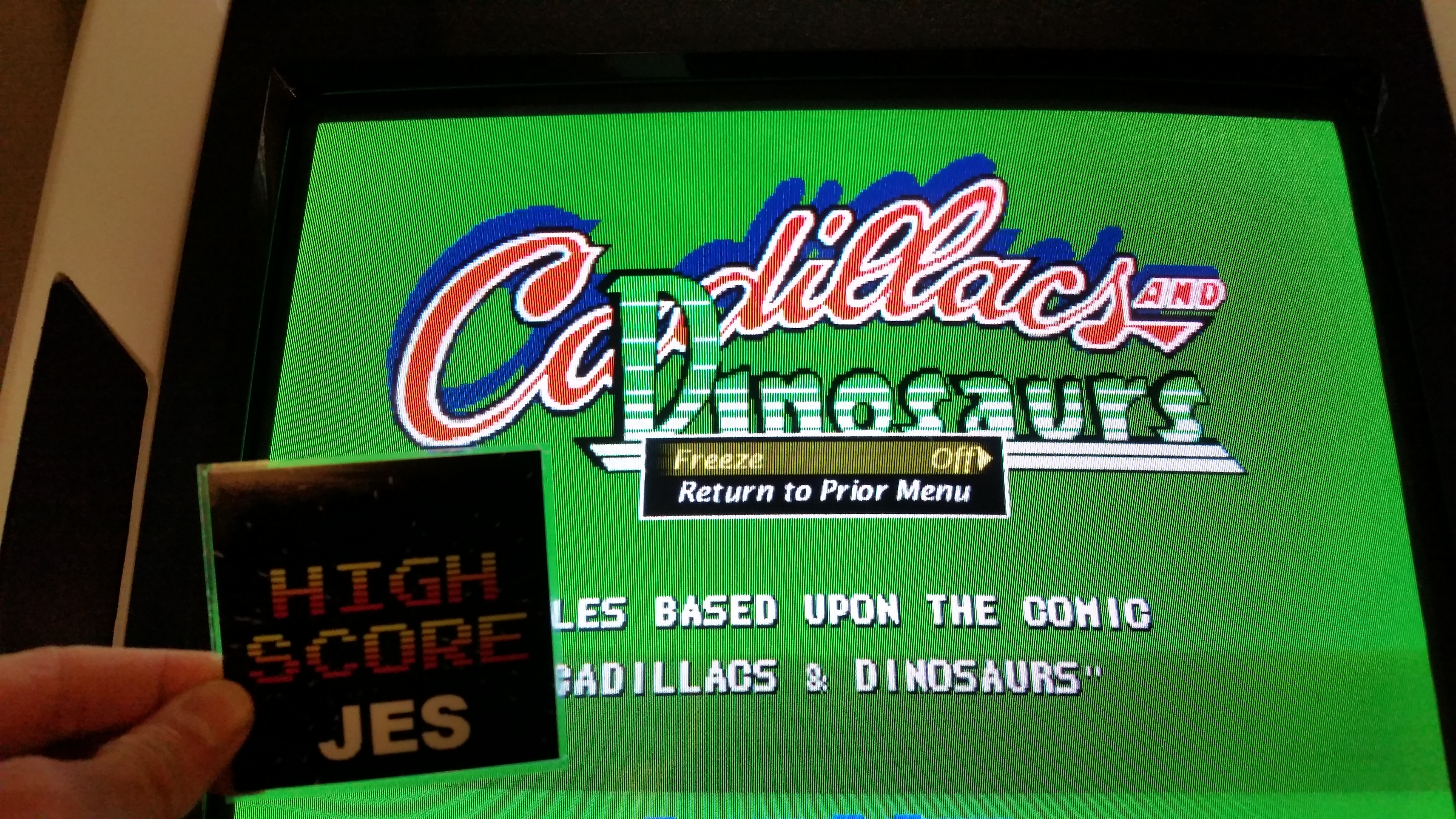Cadillacs and Dinosaurs [dino] 100,800 points