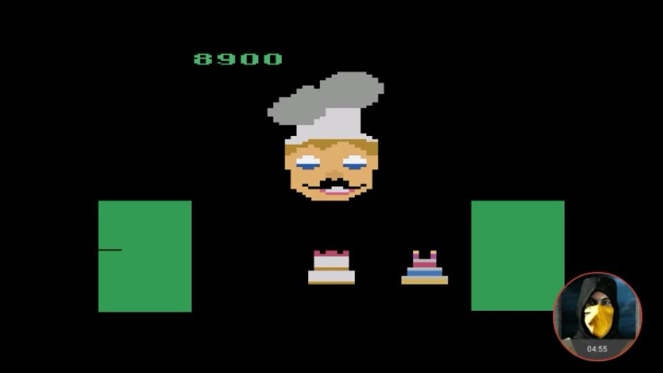 omargeddon: Cakewalk (Atari 2600 Emulated Novice/B Mode) 8,900 points on 2018-02-20 23:44:12