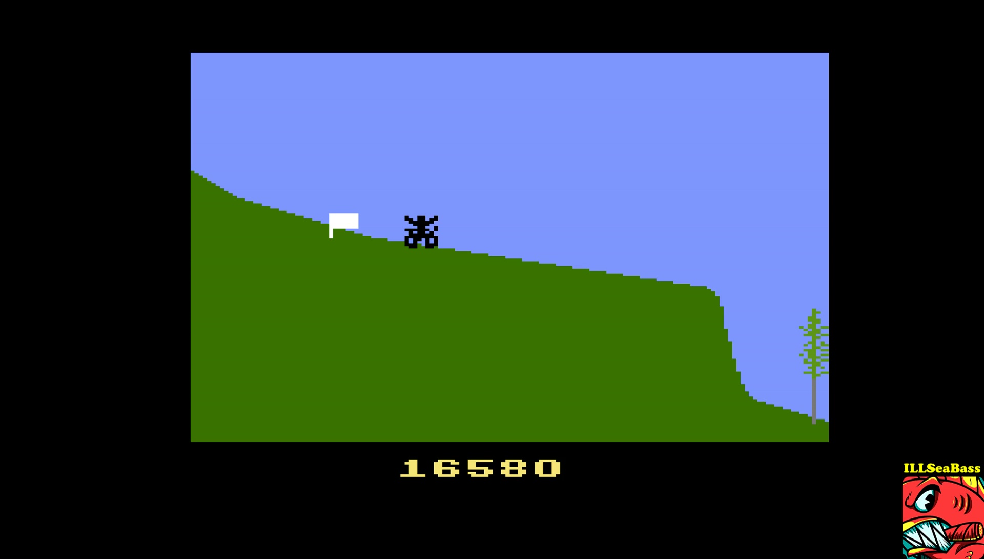 ILLSeaBass: California Games: BMX Bike Racing (Atari 2600 Emulated) 16,580 points on 2017-04-01 17:46:25