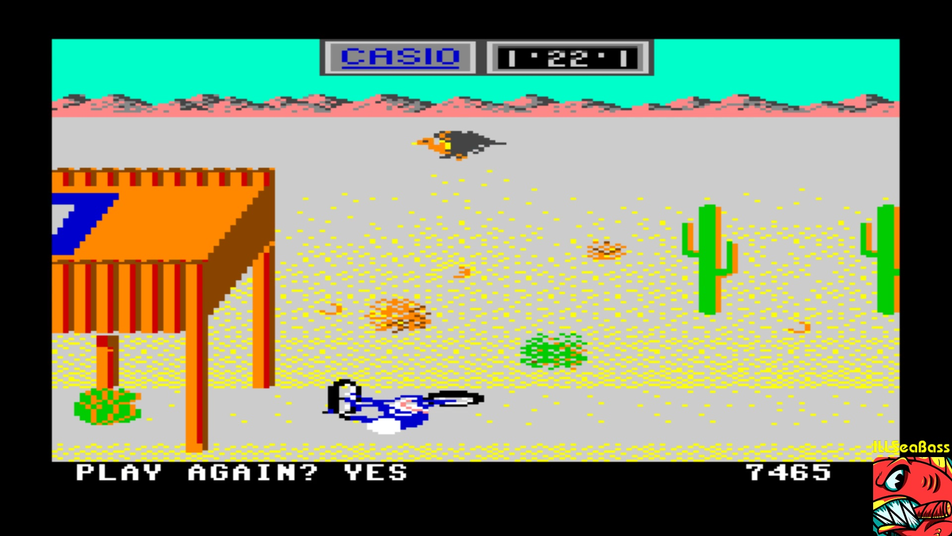 ILLSeaBass: California Games: BMX (Commodore 64 Emulated) 7,465 points on 2018-01-04 21:49:51