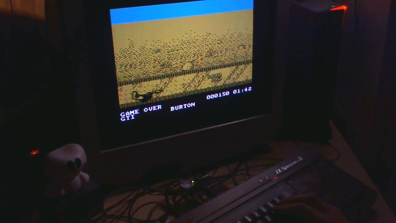 GTibel: California Games [BMX] (ZX Spectrum) 150 points on 2018-01-06 10:58:12