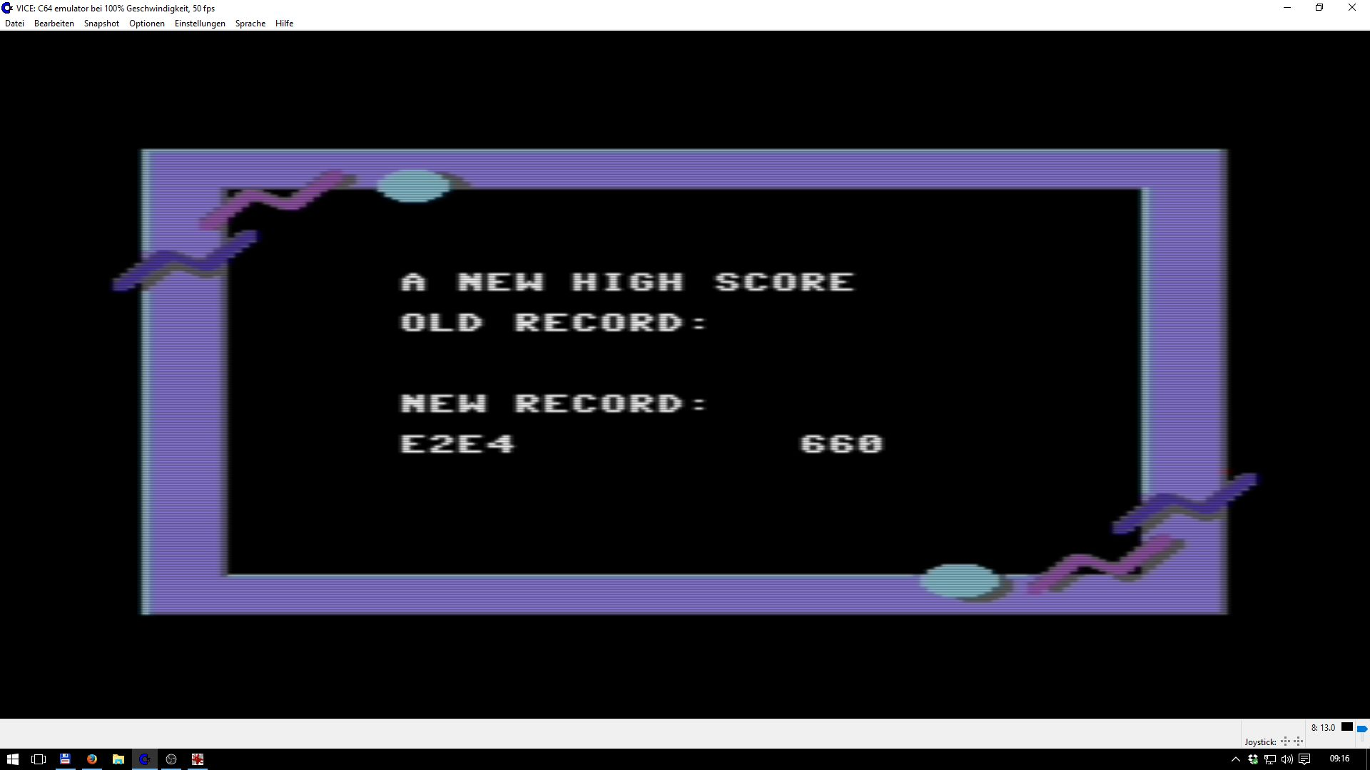 California Games: Flying Disk 660 points