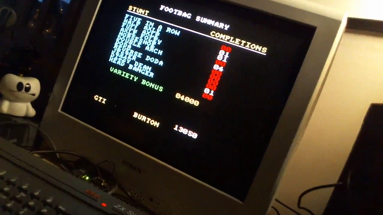GTibel: California Games [Foot Bag] (ZX Spectrum) 13,050 points on 2018-01-06 10:32:20