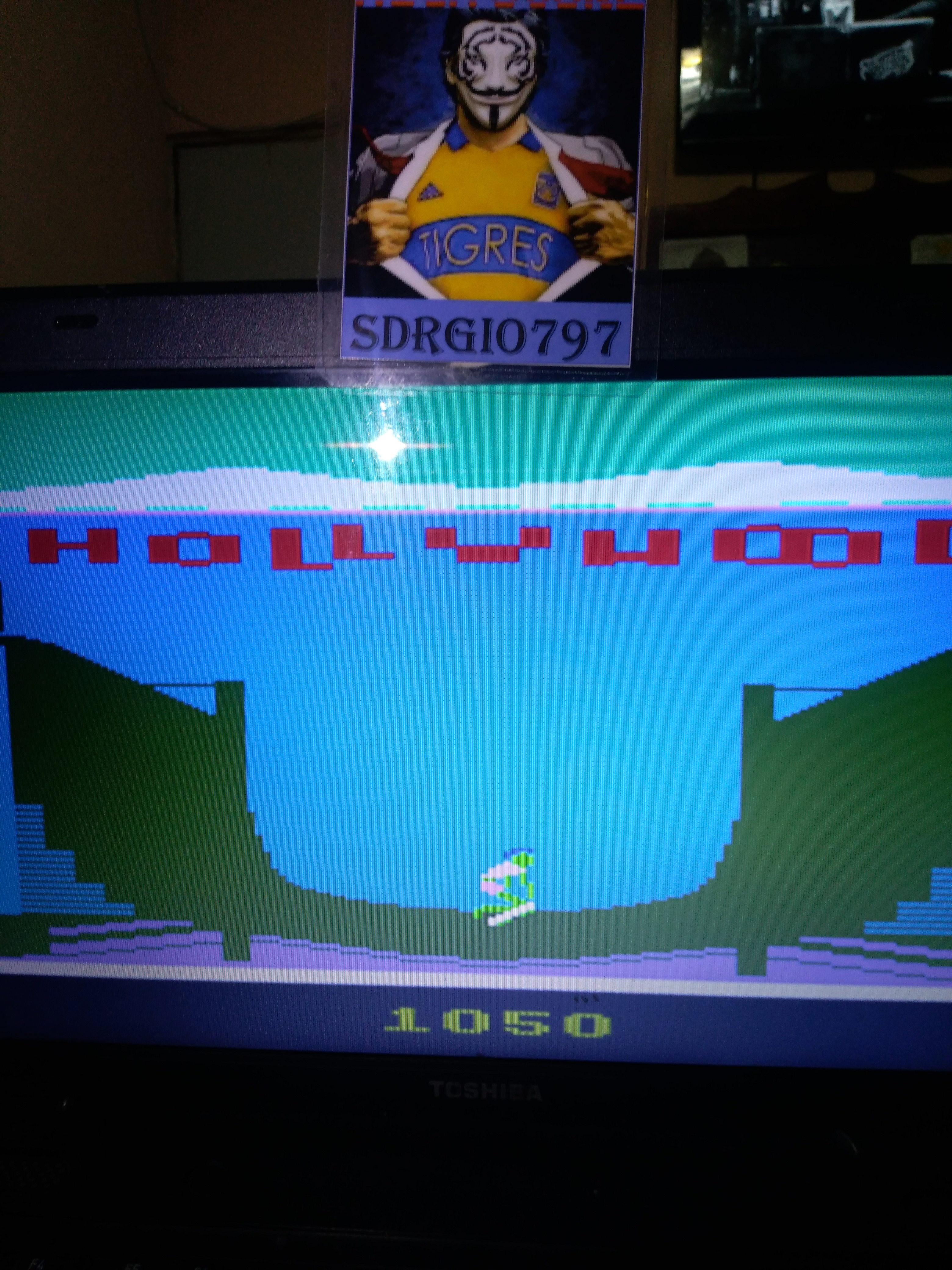 Sdrgio797: California Games: Half Pipe (Atari 2600 Emulated) 1,050 points on 2021-03-19 11:02:57