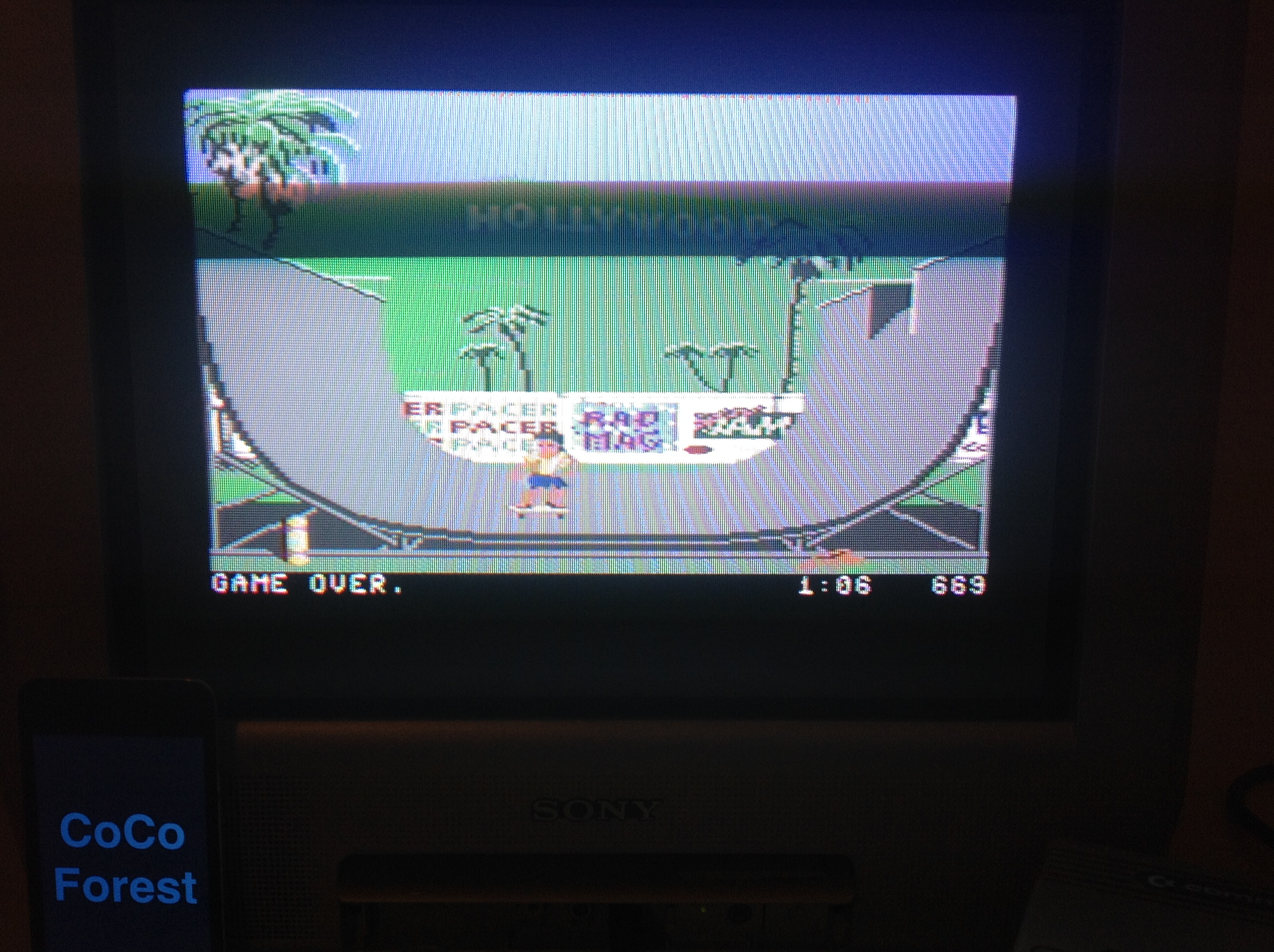 CoCoForest: California Games: Half Pipe (Commodore 64) 669 points on 2015-12-07 12:07:03