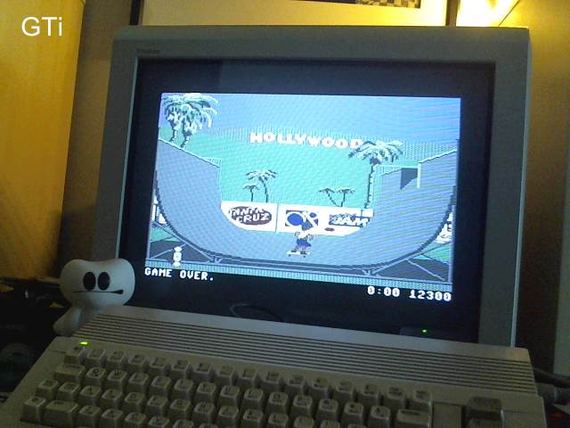 GTibel: California Games: Half Pipe (Commodore 64) 12,300 points on 2017-05-08 04:57:52