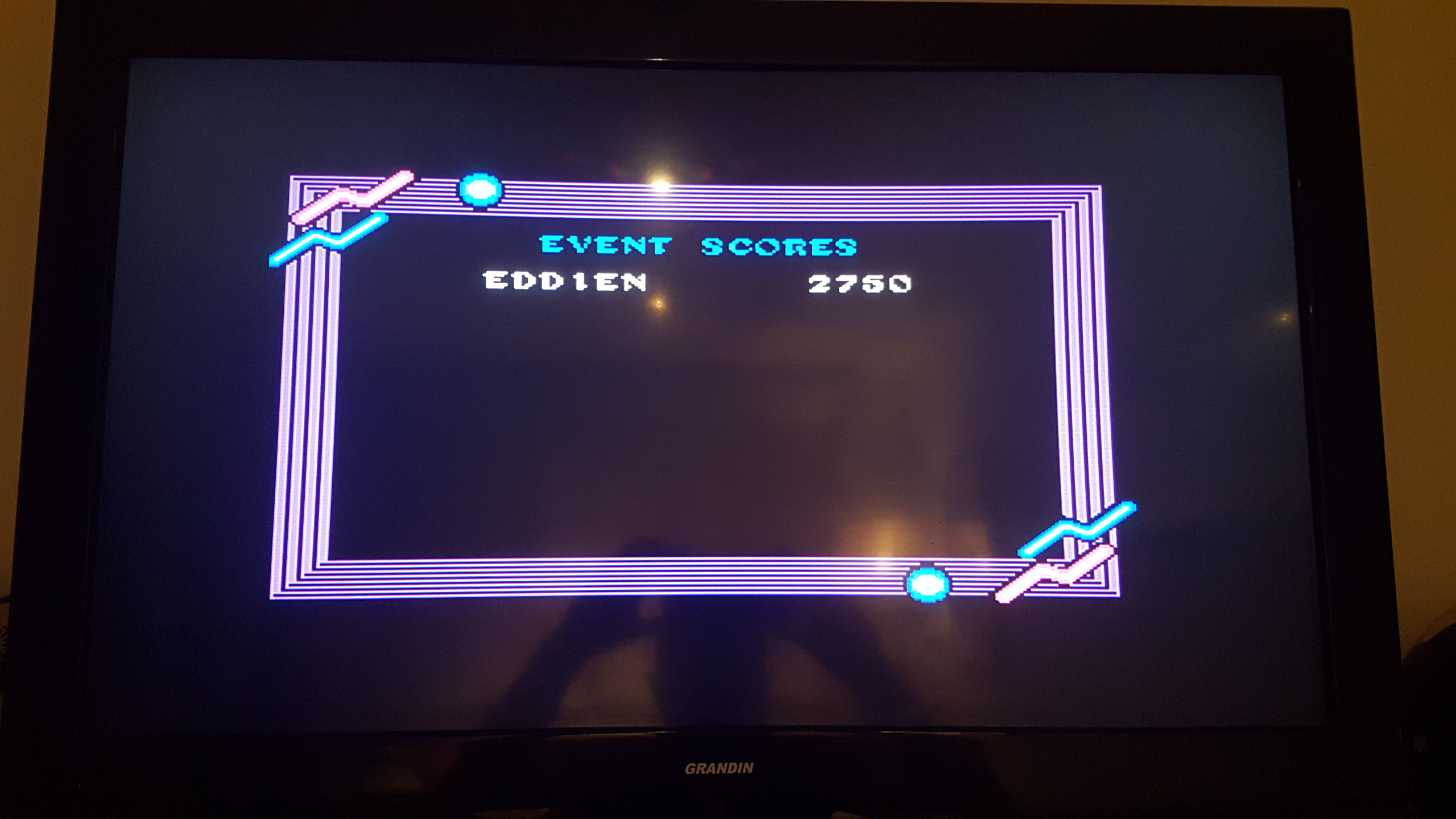 EddieNiceguy: California Games: Half Pipe (Sega Master System) 2,750 points on 2018-11-30 17:16:57