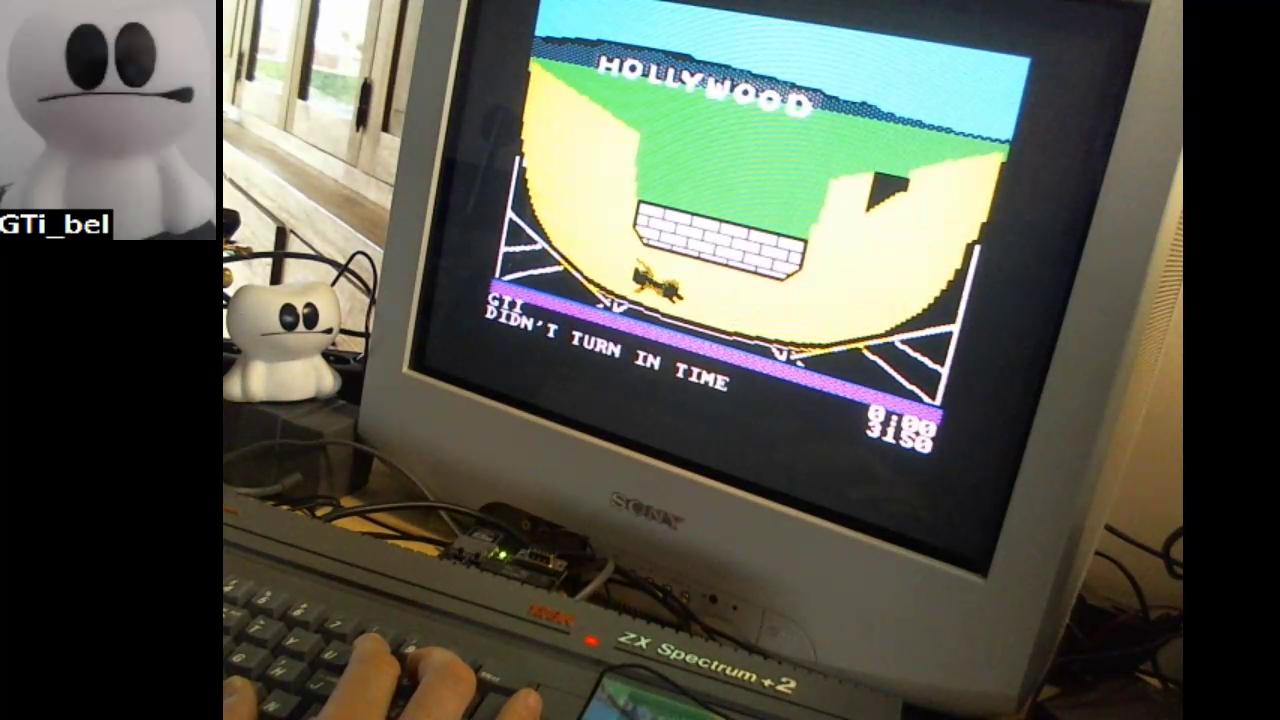 GTibel: California Games [Half Pipe] (ZX Spectrum) 3,150 points on 2018-01-06 03:30:25
