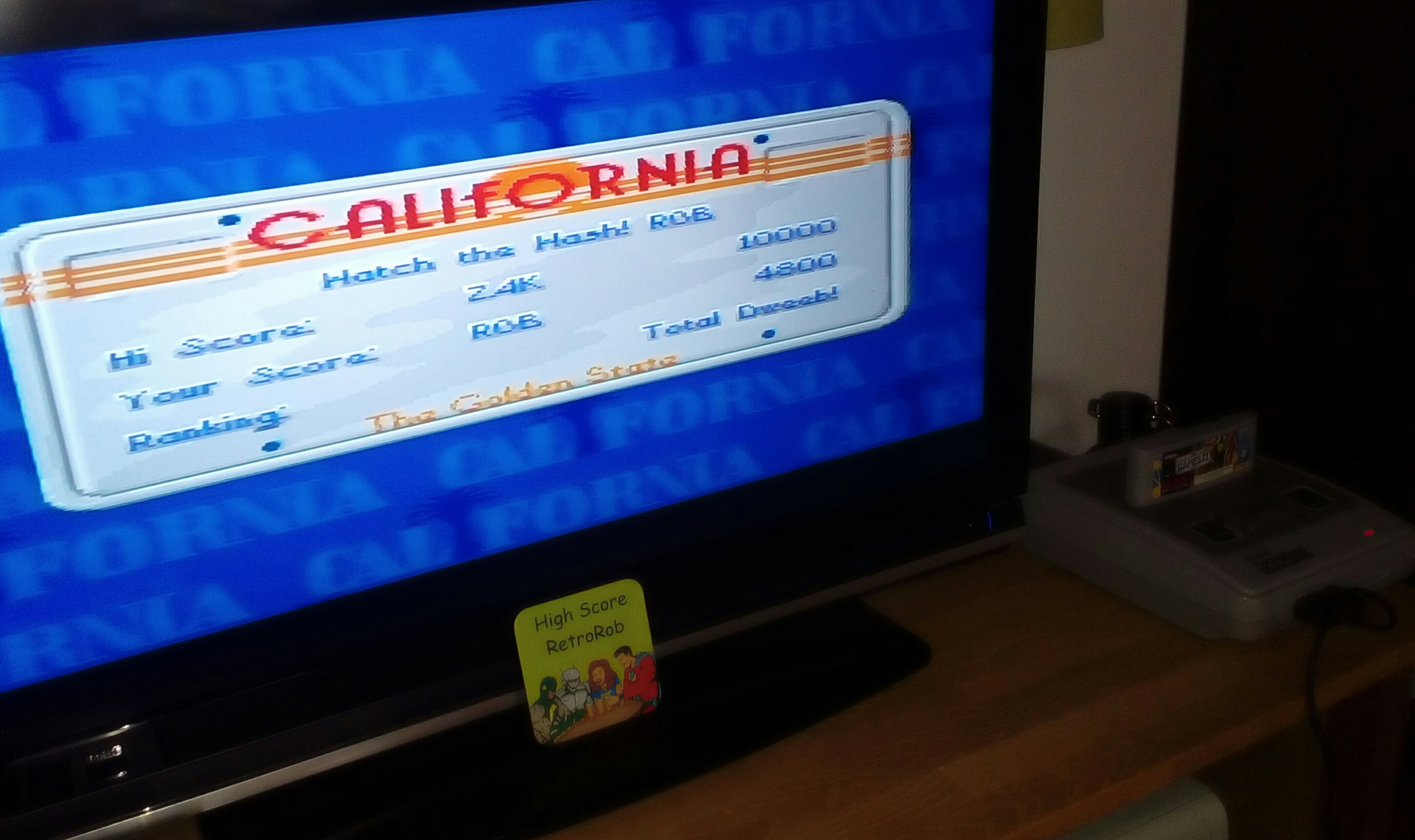 RetroRob: California Games II [Bodyboarding] (SNES/Super Famicom) 4,800 points on 2018-06-11 12:21:53